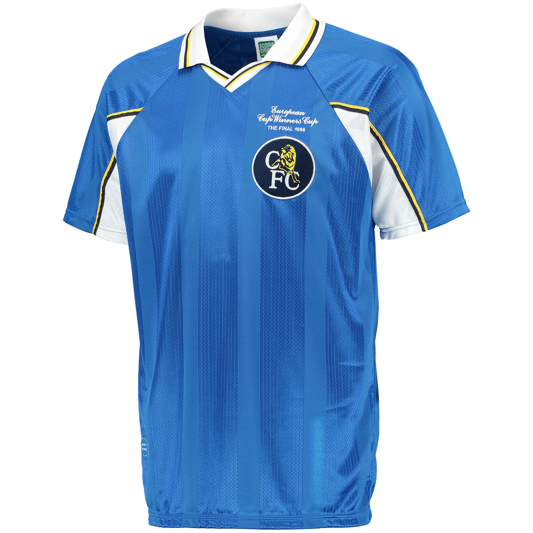 Chelsea 1998 ECWC Final shirt