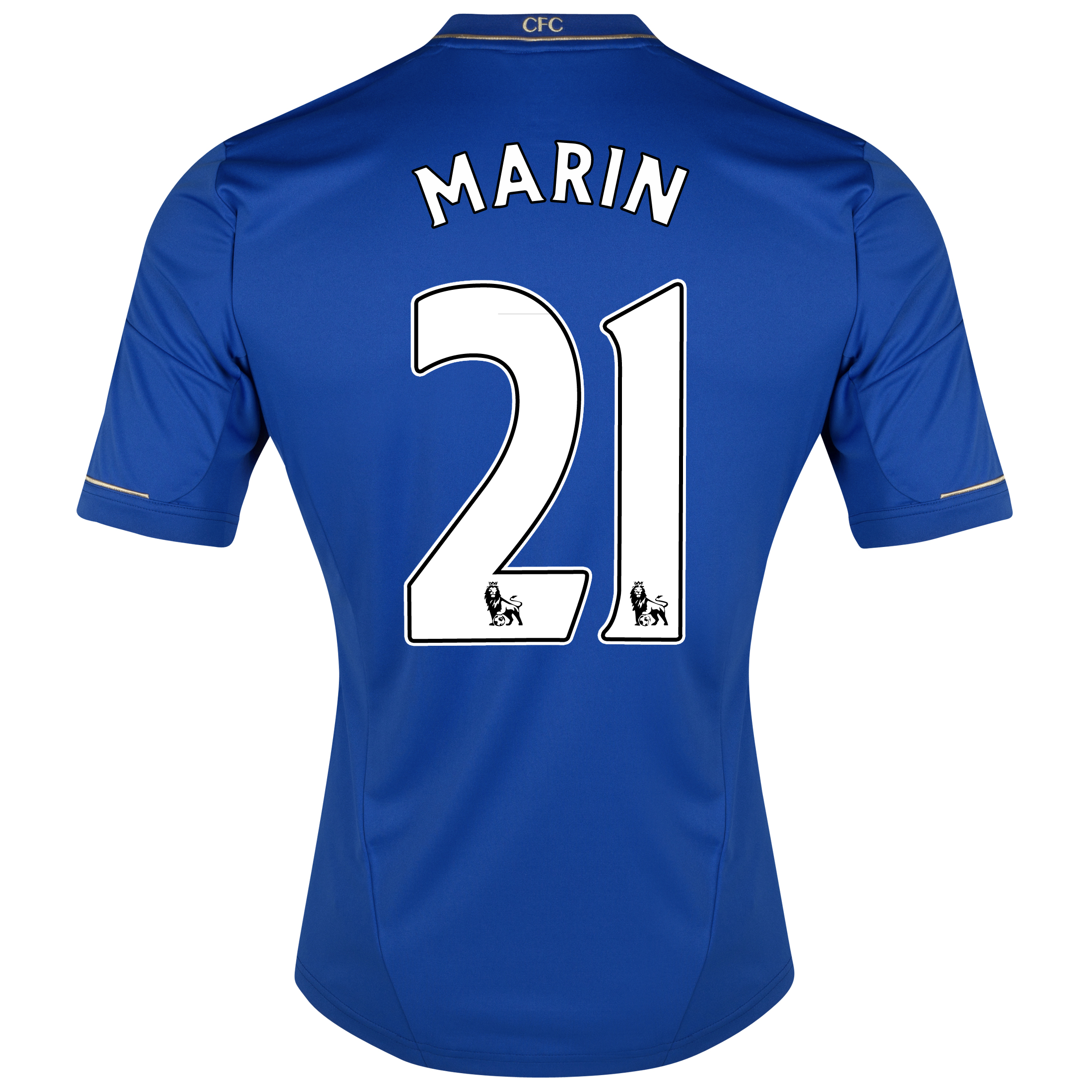 Chelsea Home Shirt 2012/13 - Kids with Marin 21 printing
