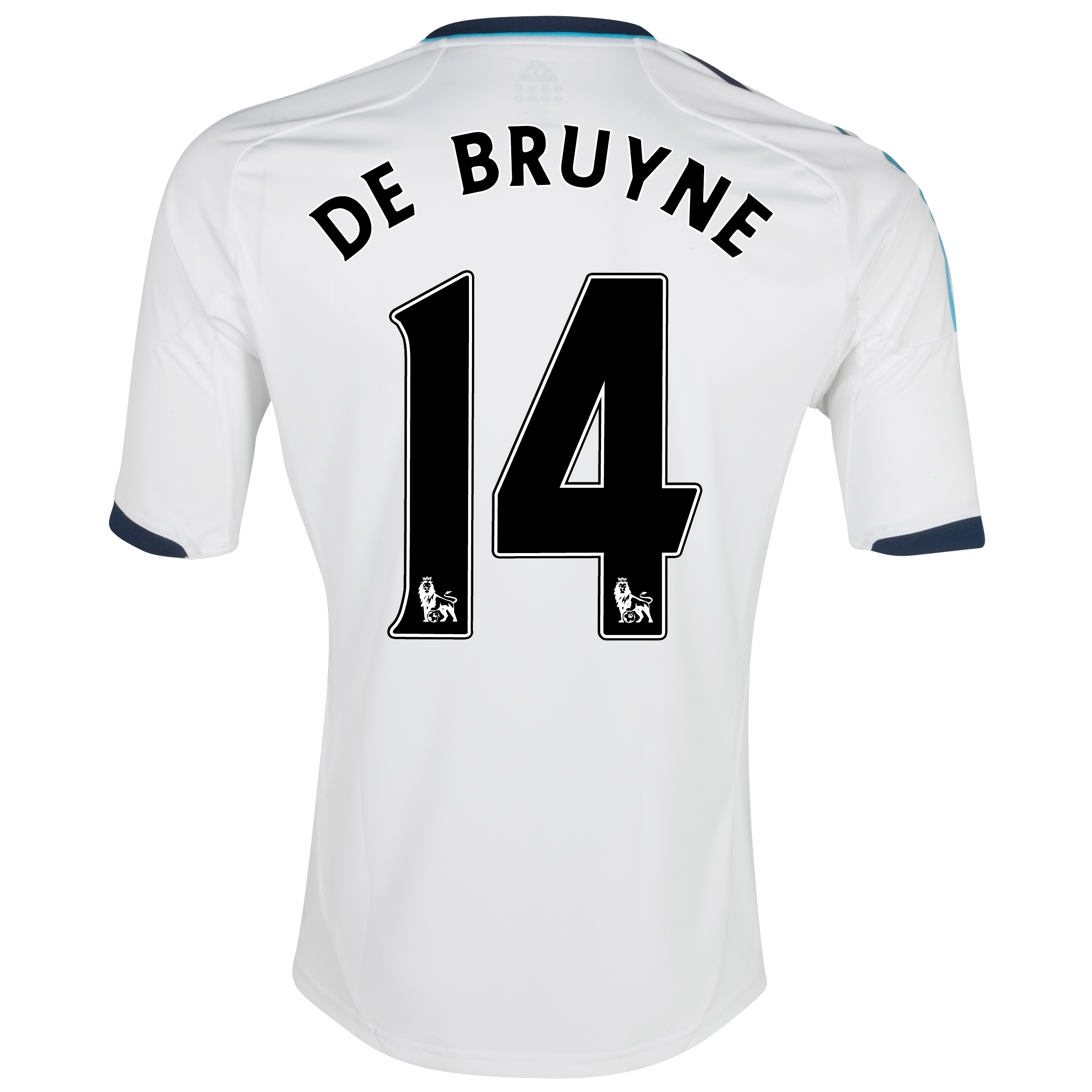 Chelsea Away Shirt 2012/13 - Kids with De Bruyne 14 printing