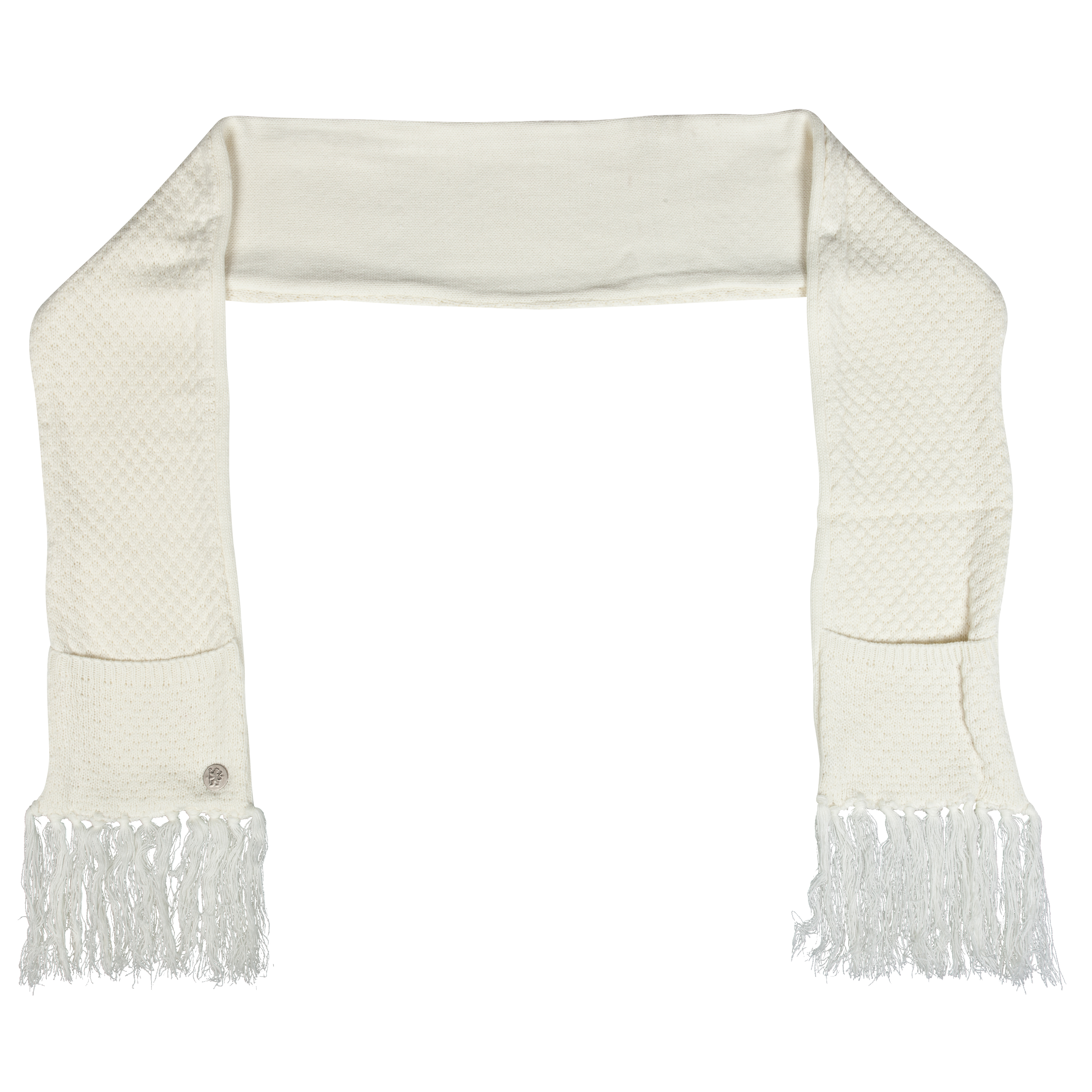 Chelsea Pocket Scarf - Cream - Womens