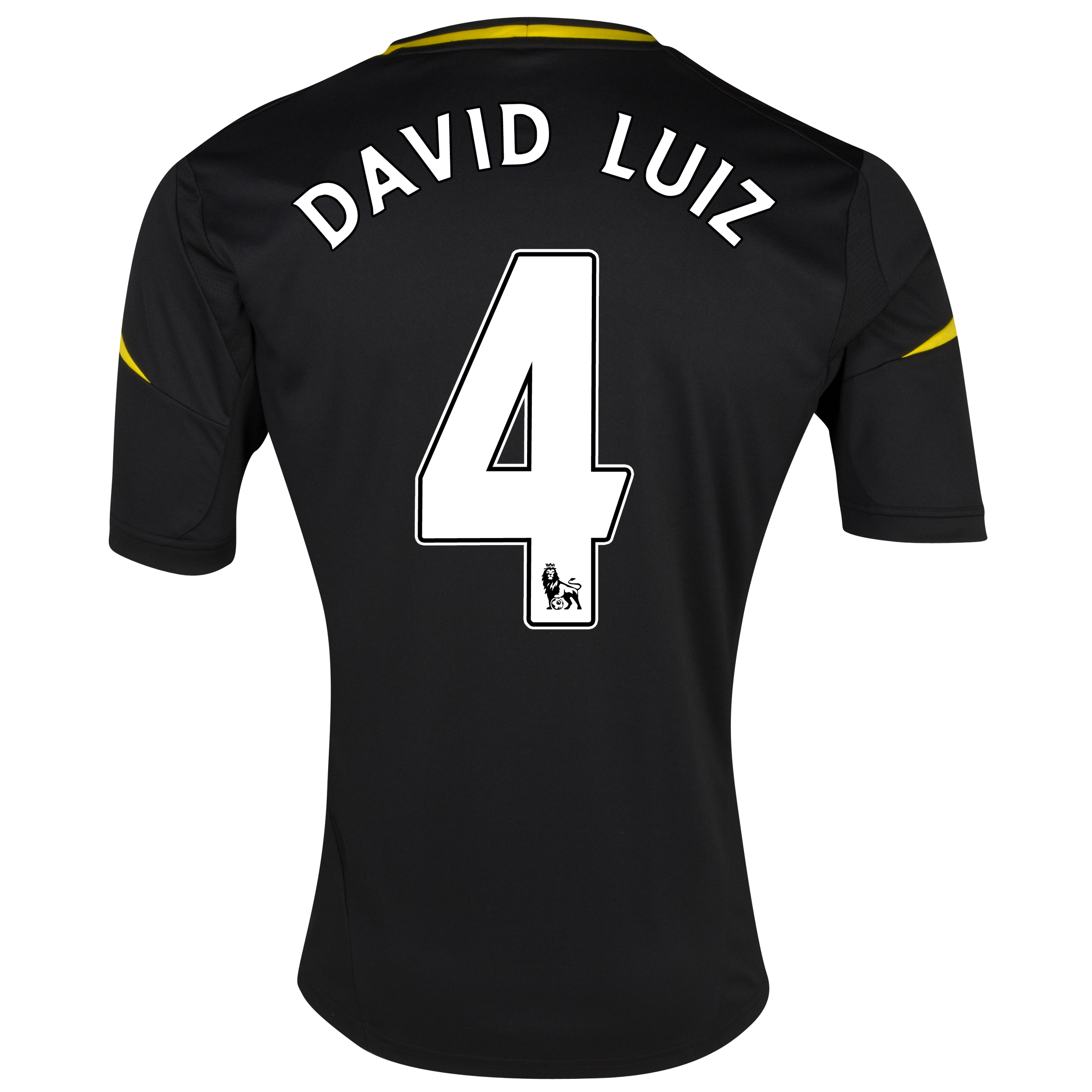 Chelsea Third Shirt 2012/13 with David Luiz 4 printing