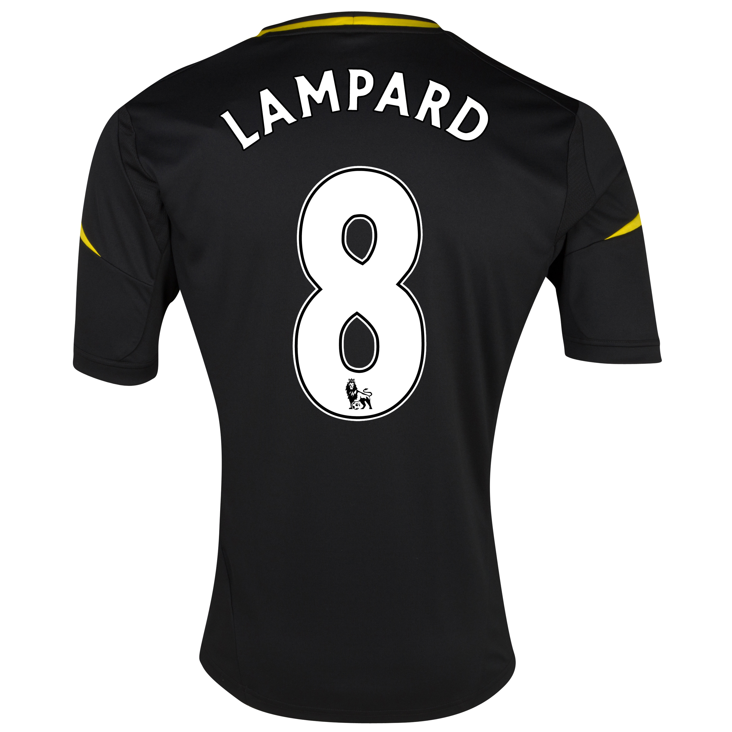 Chelsea Third Shirt 2012/13 with Lampard 8 printing