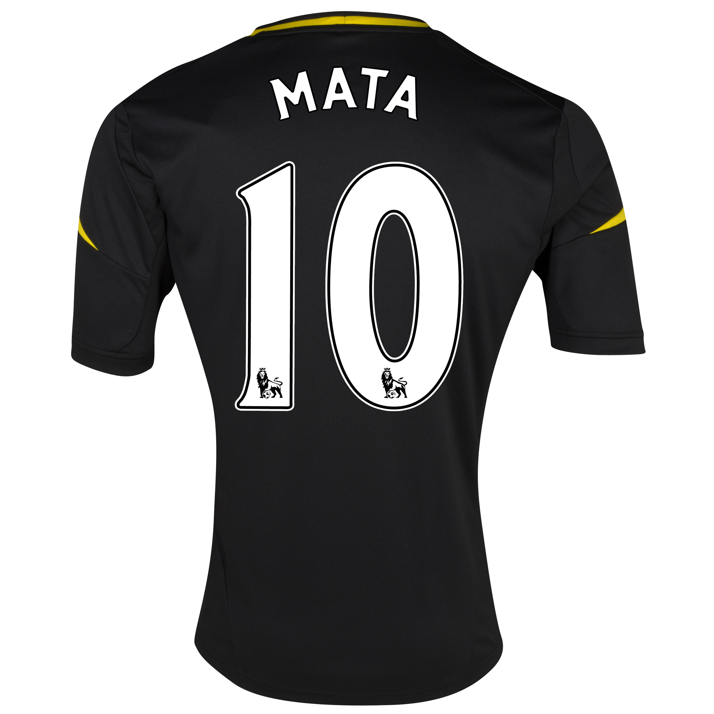 Chelsea Third Shirt 2012/13 with Mata 10 printing