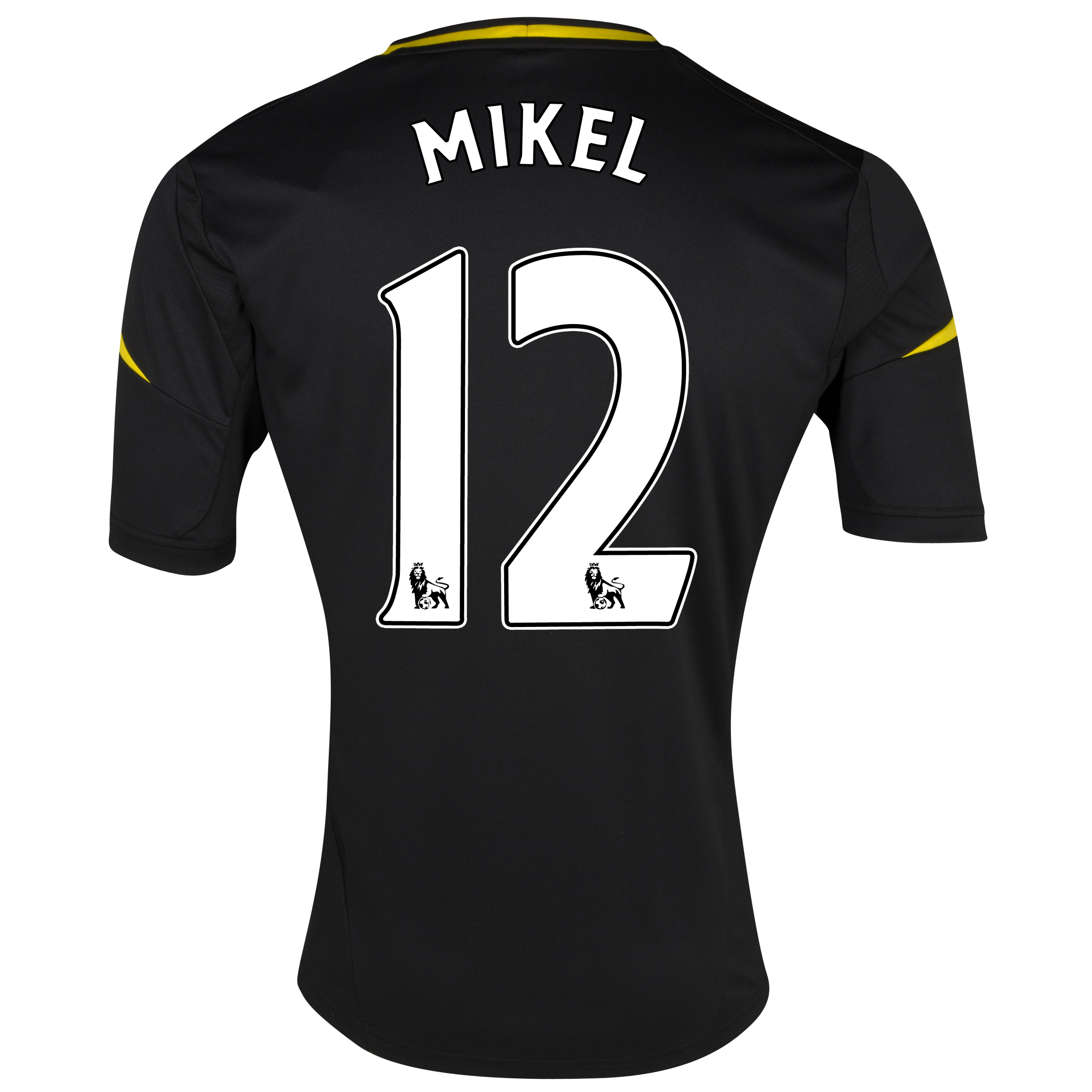 Chelsea Third Shirt 2012/13 with Mikel 12 printing