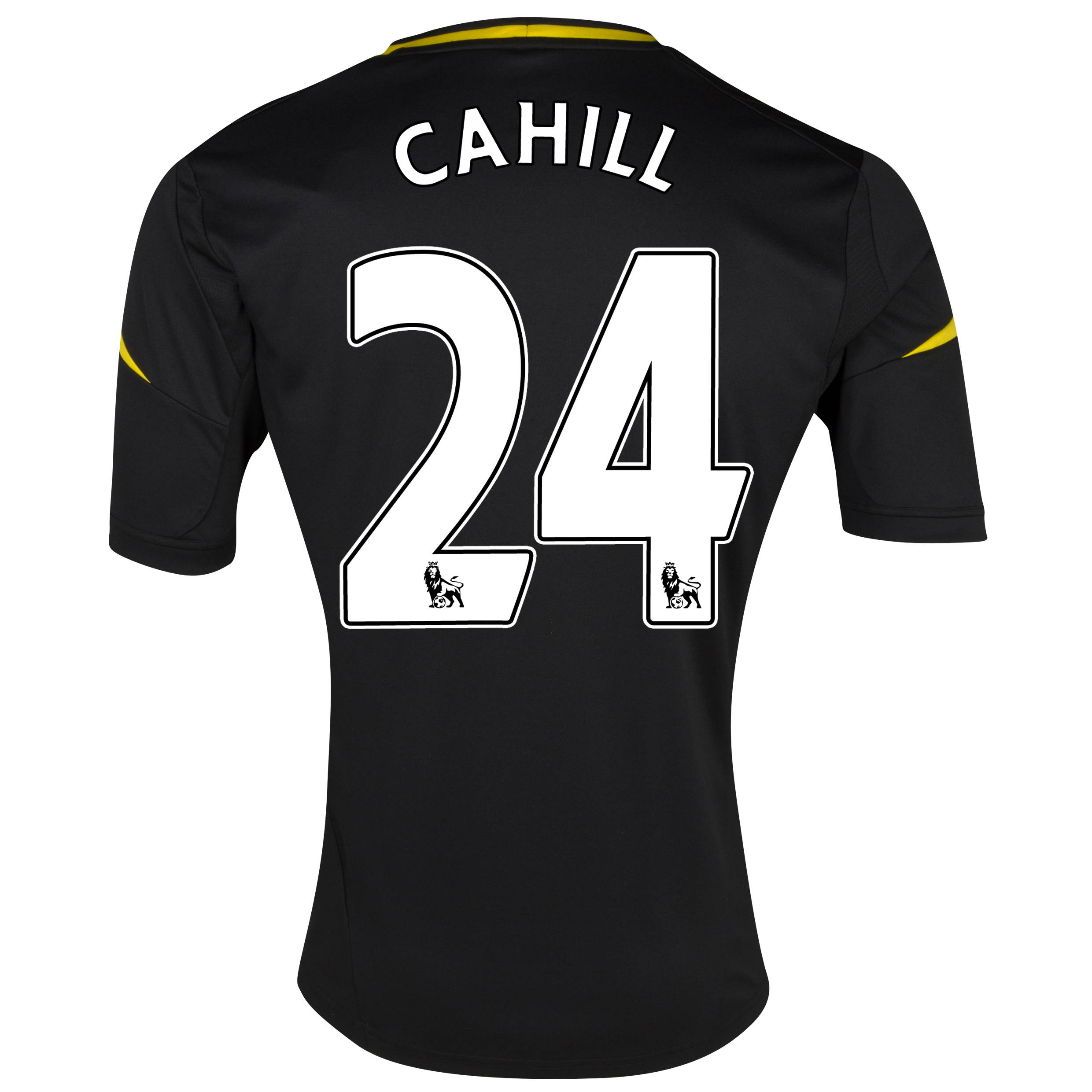 Chelsea Third Shirt 2012/13 with Cahill 24 printing