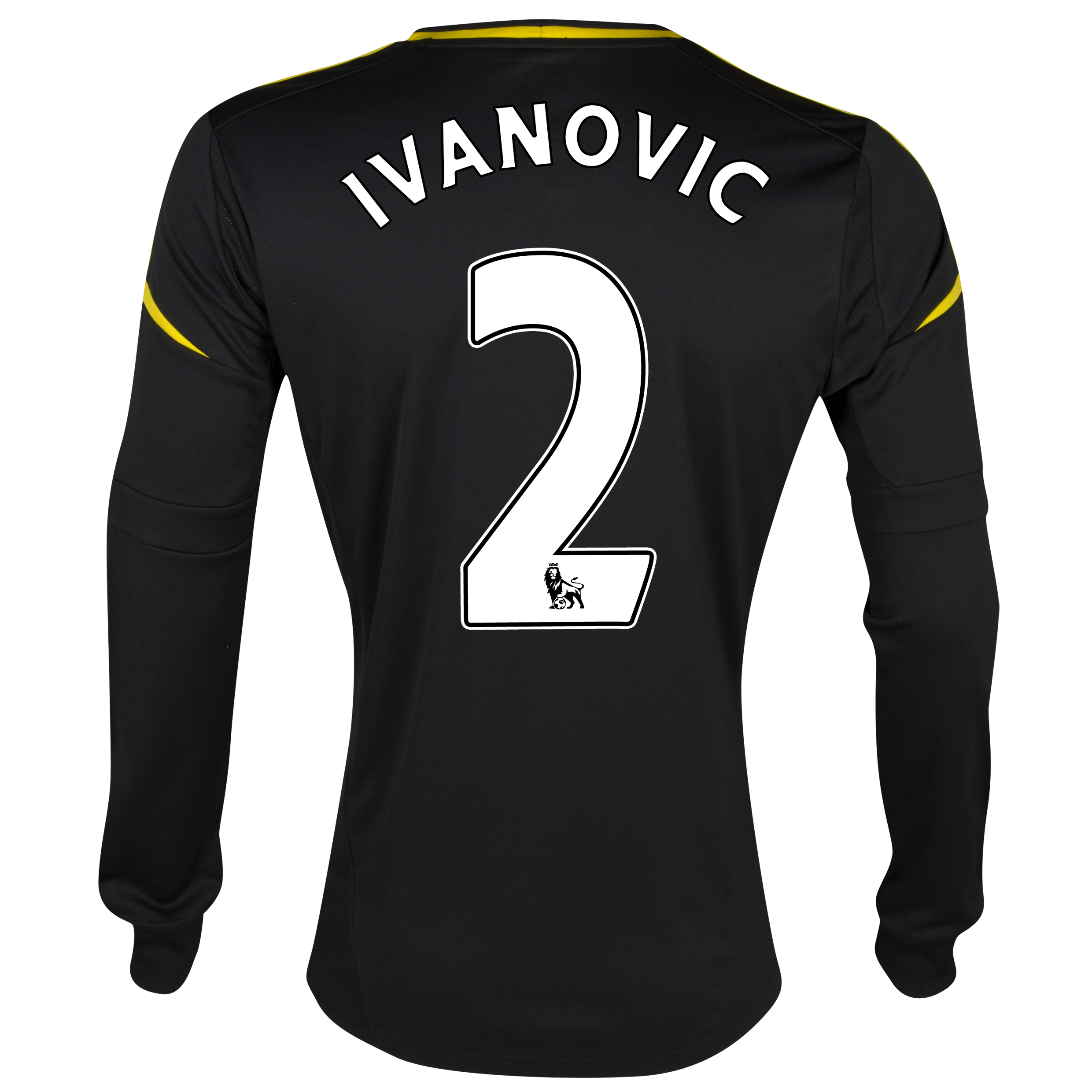 Chelsea Third Shirt 2012/13 - Long Sleeved with Ivanovic 2 printing