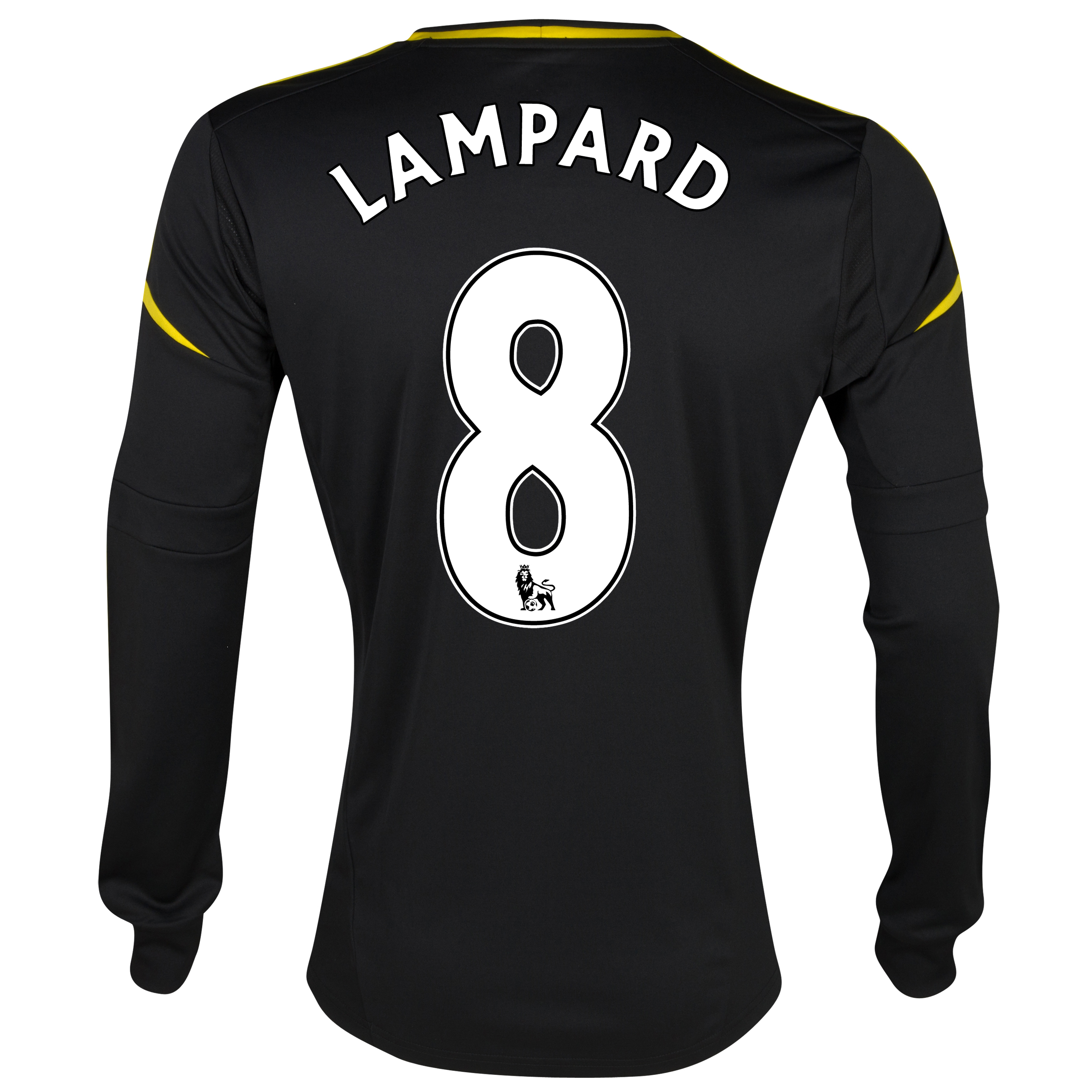 Chelsea Third Shirt 2012/13 - Long Sleeved with Lampard 8 printing