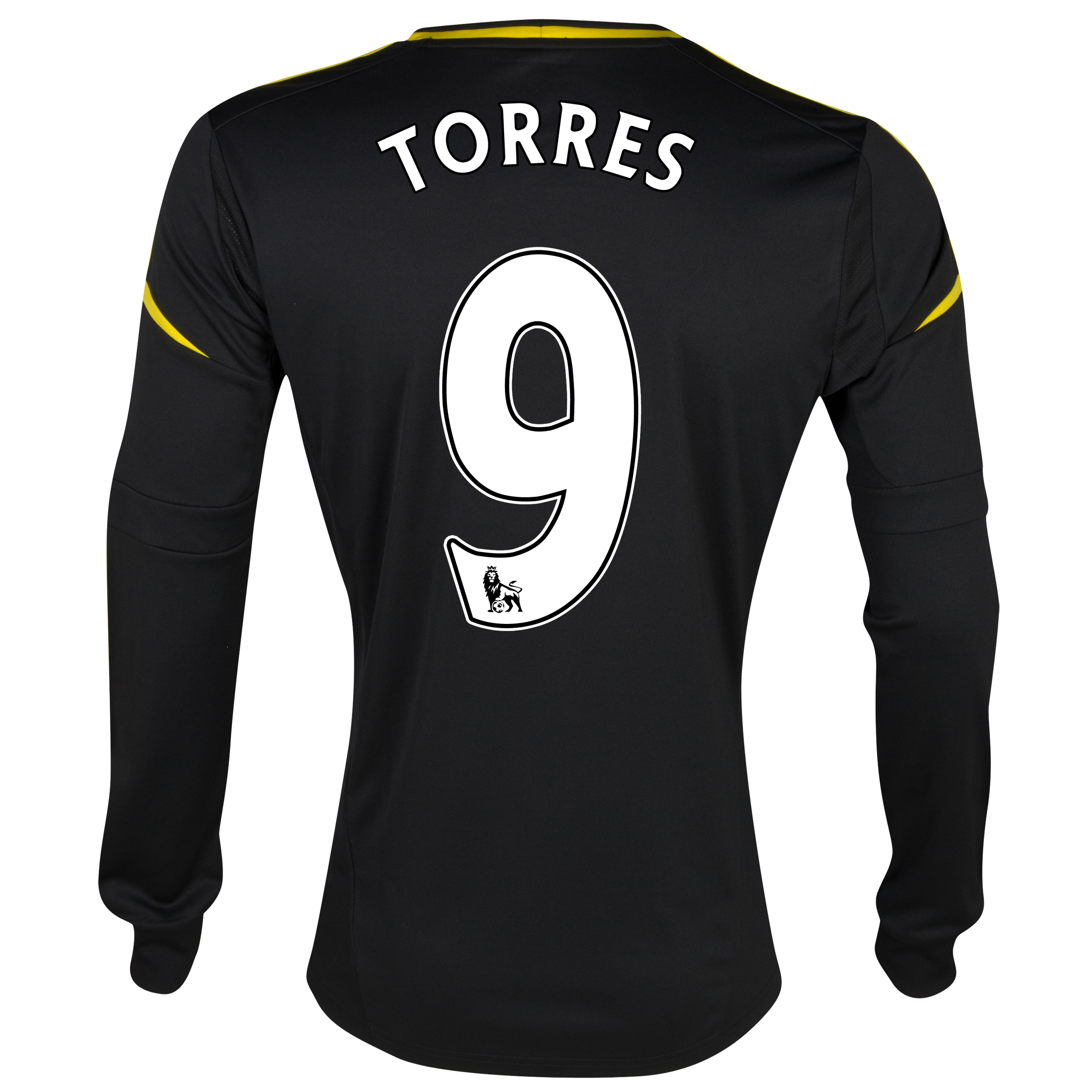 Chelsea Third Shirt 2012/13 - Long Sleeved with Torres 9 printing