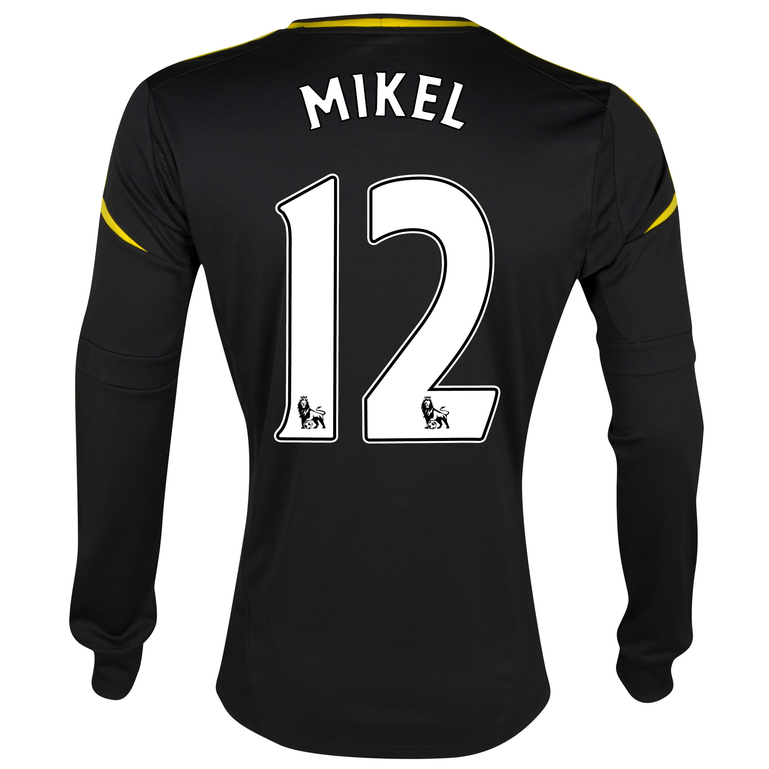 Chelsea Third Shirt 2012/13 - Long Sleeved with Mikel 12 printing