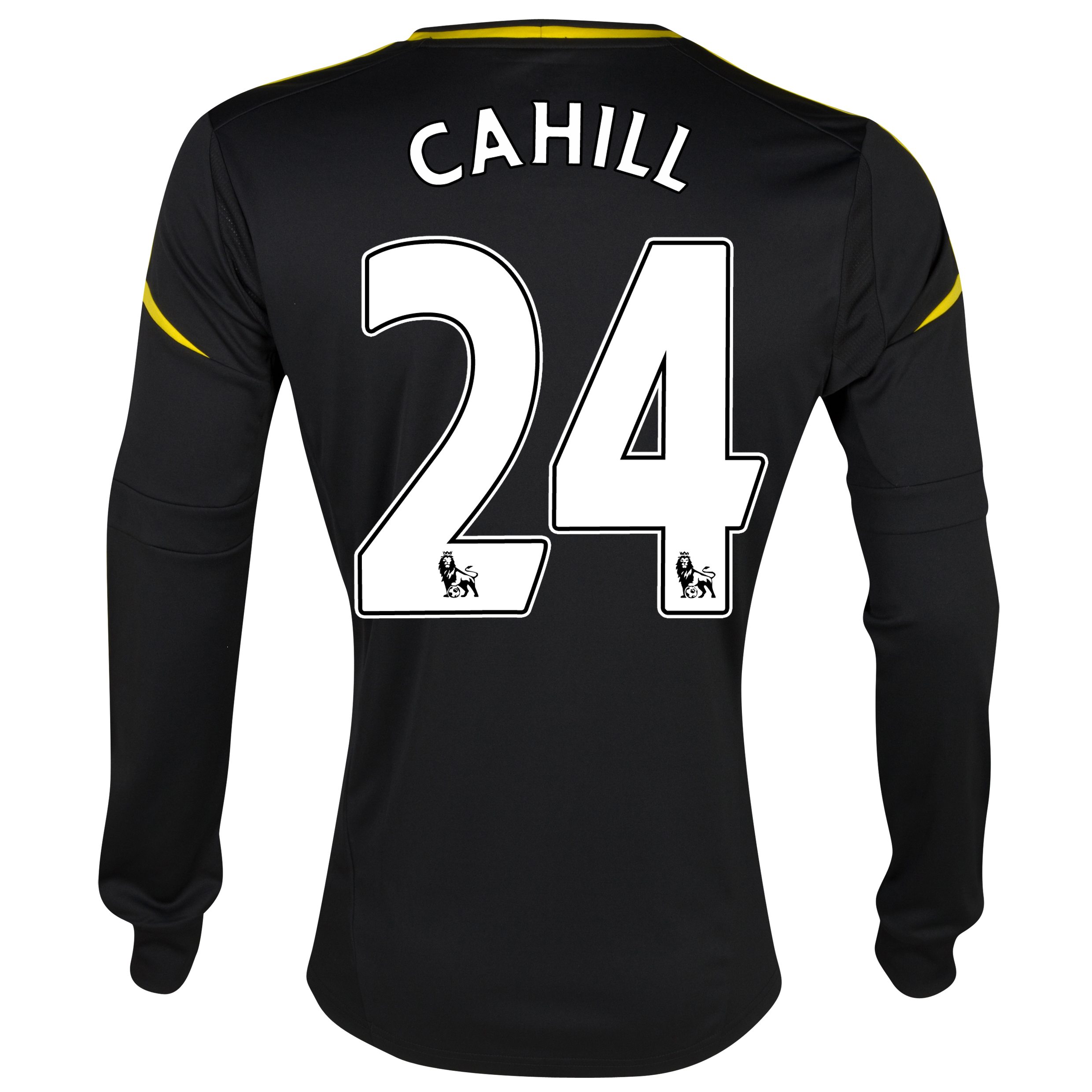 Chelsea Third Shirt 2012/13 - Long Sleeved with Cahill 24 printing
