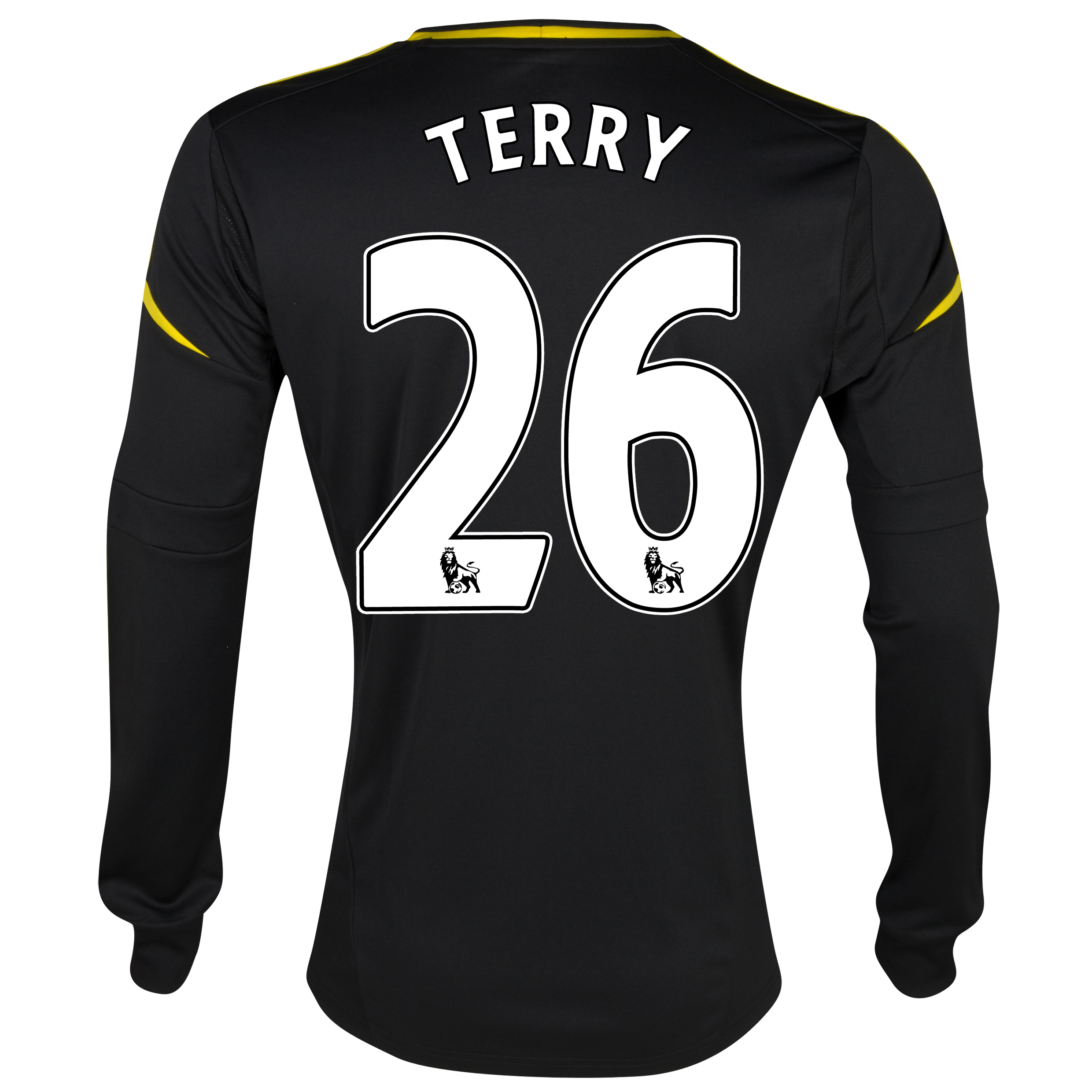 Chelsea Third Shirt 2012/13 - Long Sleeved with Terry 26 printing