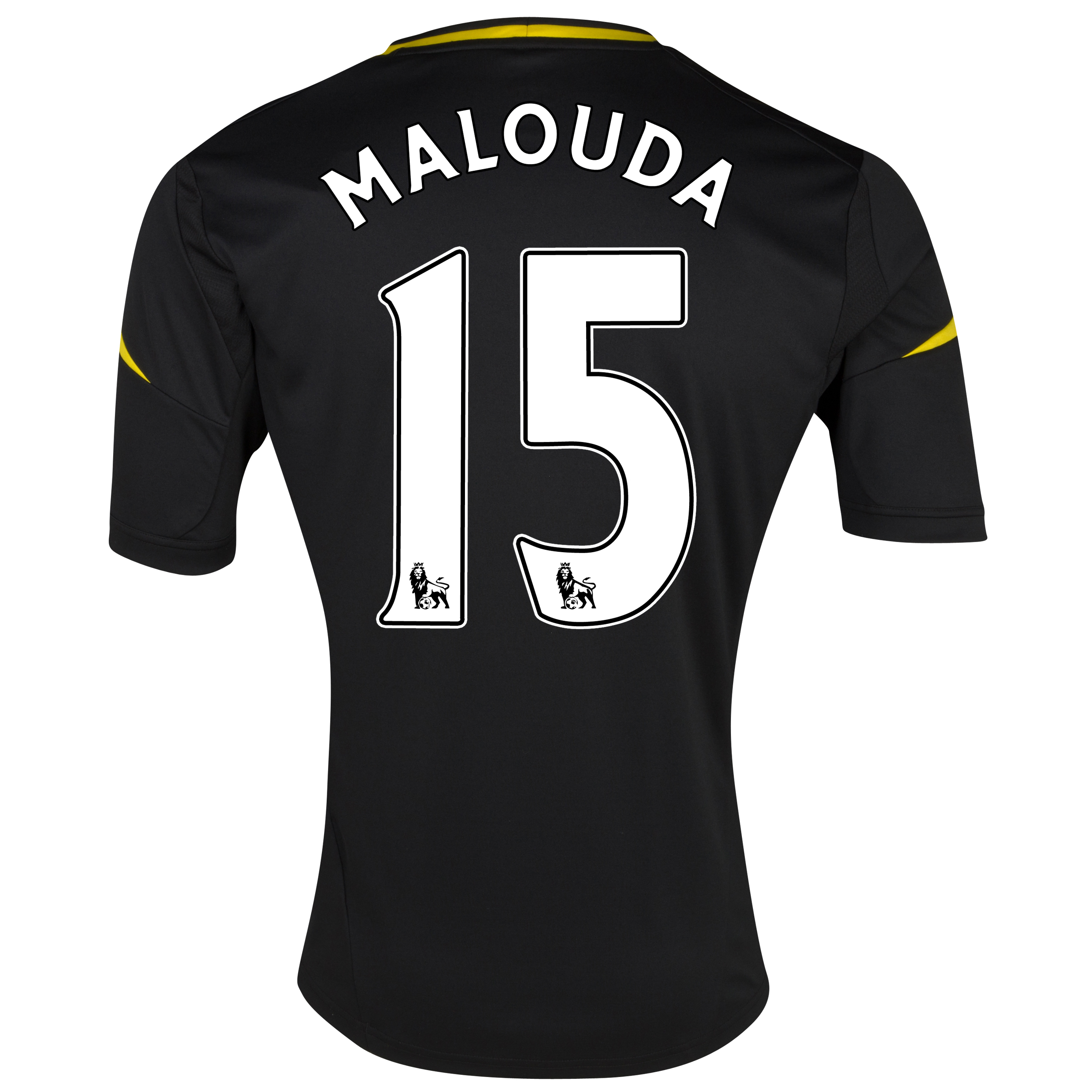 Chelsea Third Shirt 2012/13 - Kids with Malouda 15 printing