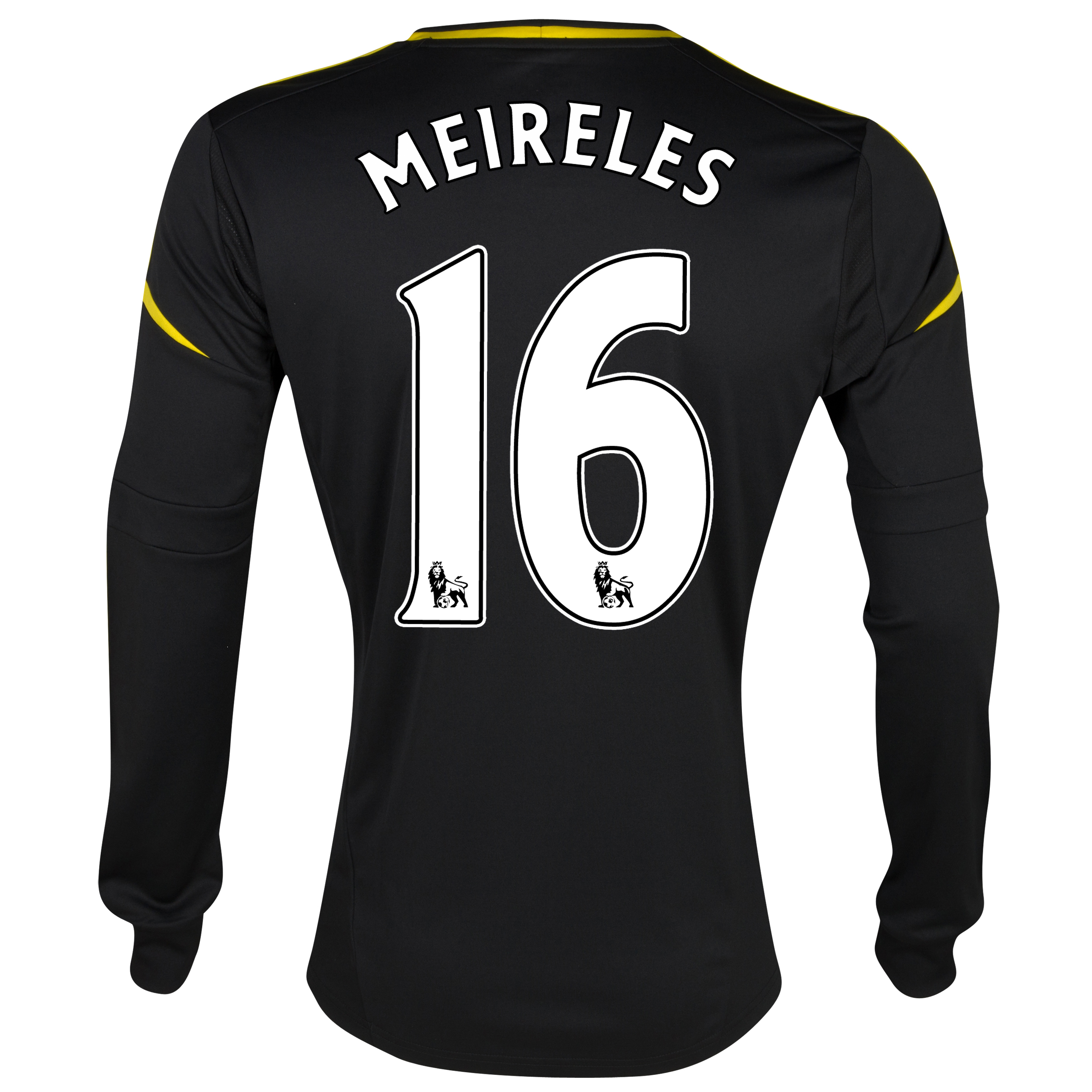 Chelsea Third Shirt 2012/13 - Long Sleeved - Youths with Meireles 16 printing