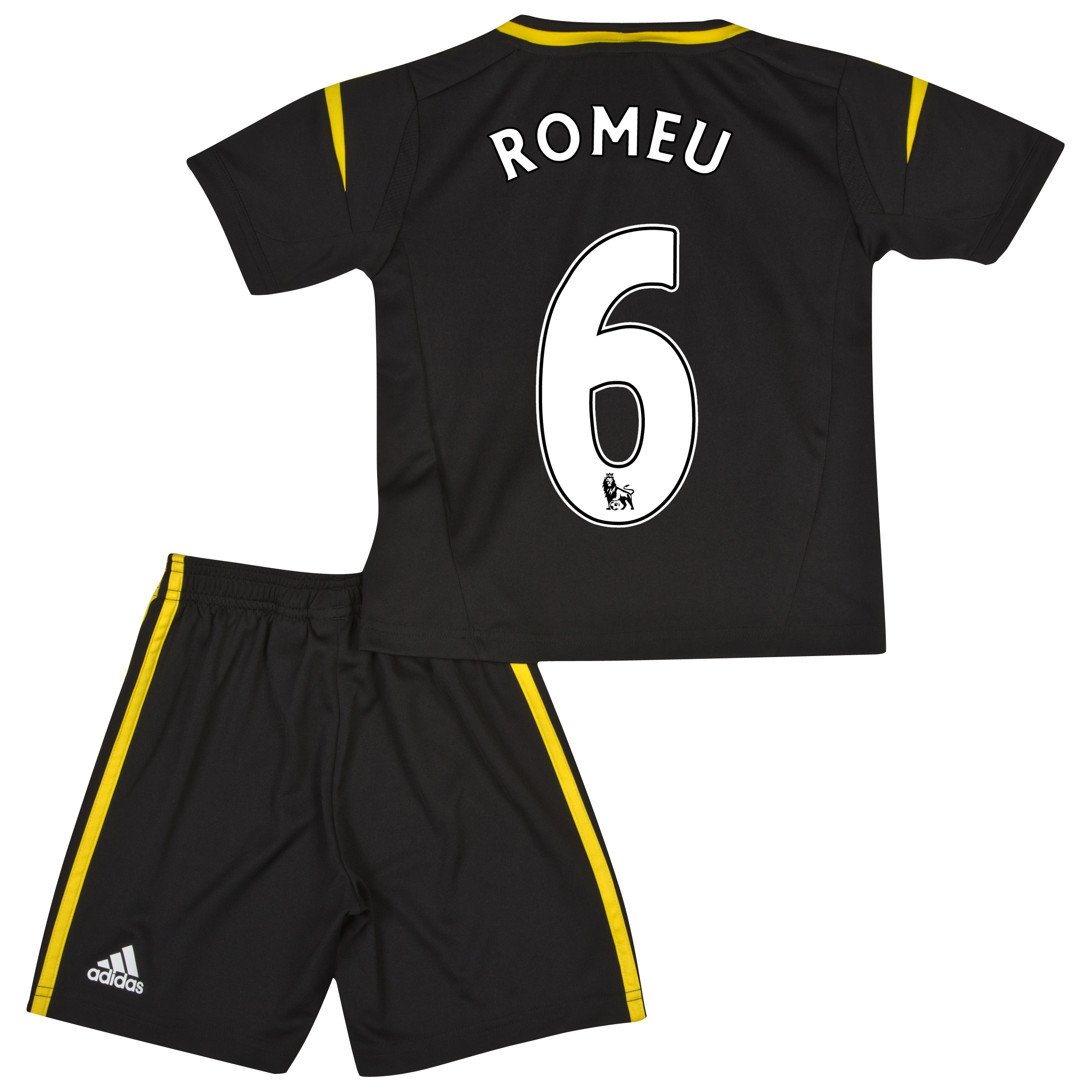 Chelsea Third Mini Kit 2012/13 with Romeu 6 printing