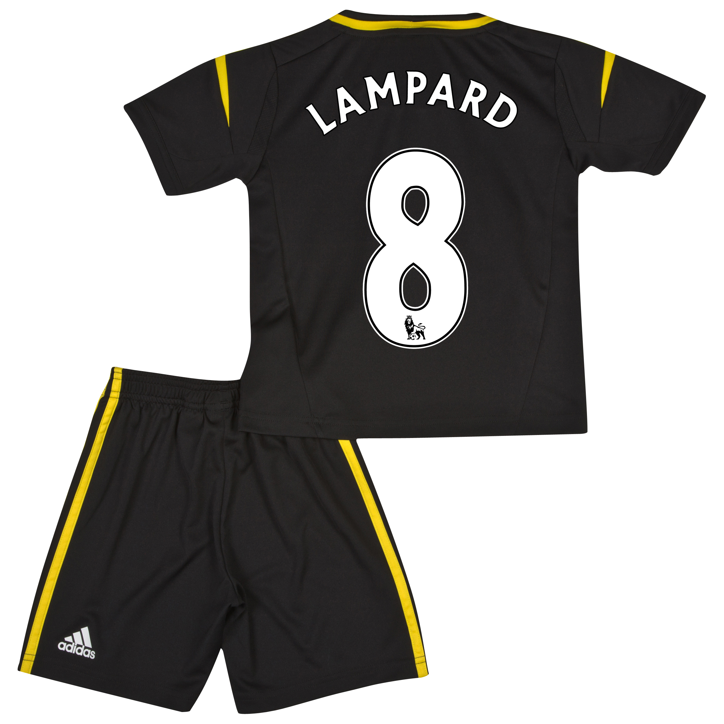 Chelsea Third Mini Kit 2012/13 with Lampard 8 printing