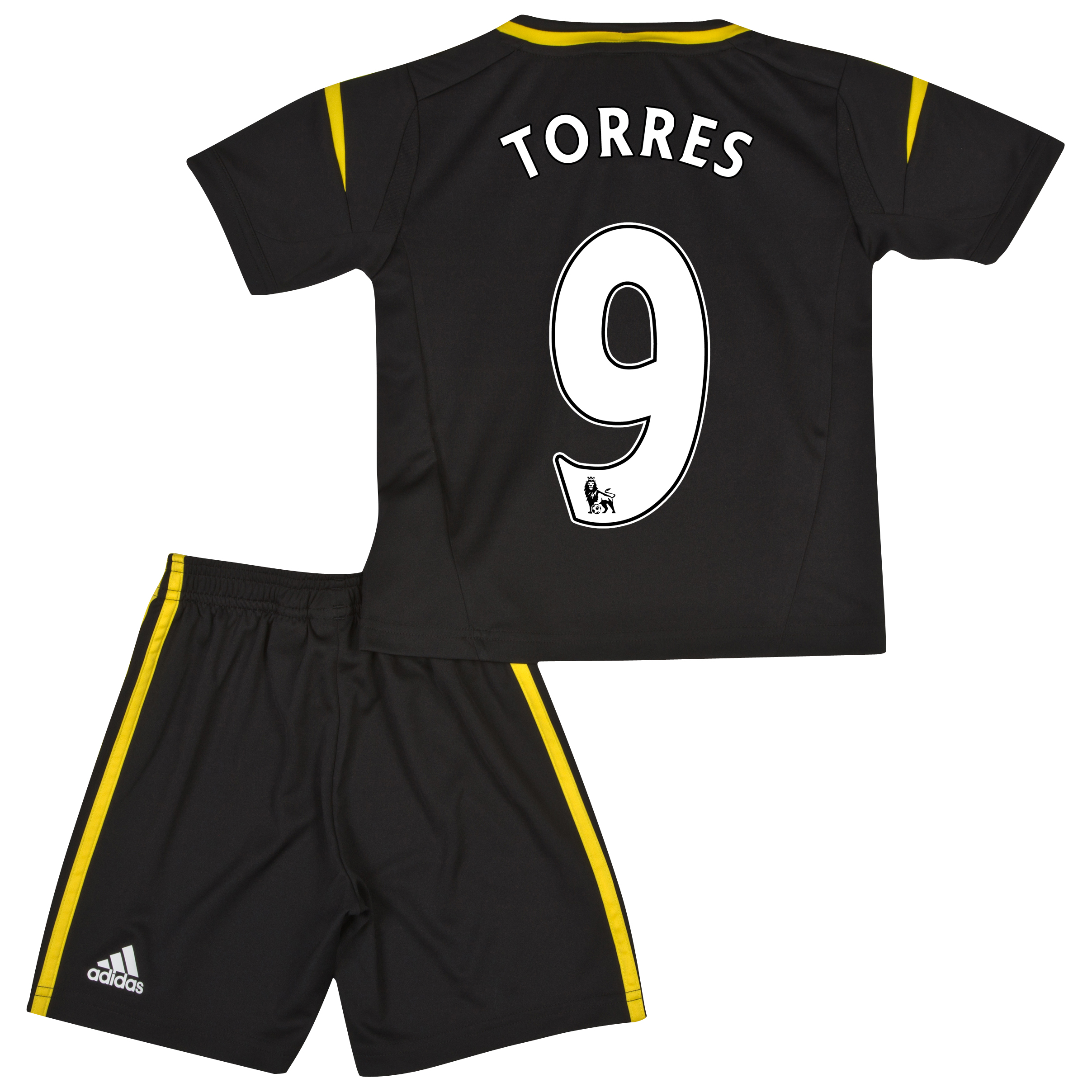Chelsea Third Mini Kit 2012/13 with Torres 9 printing