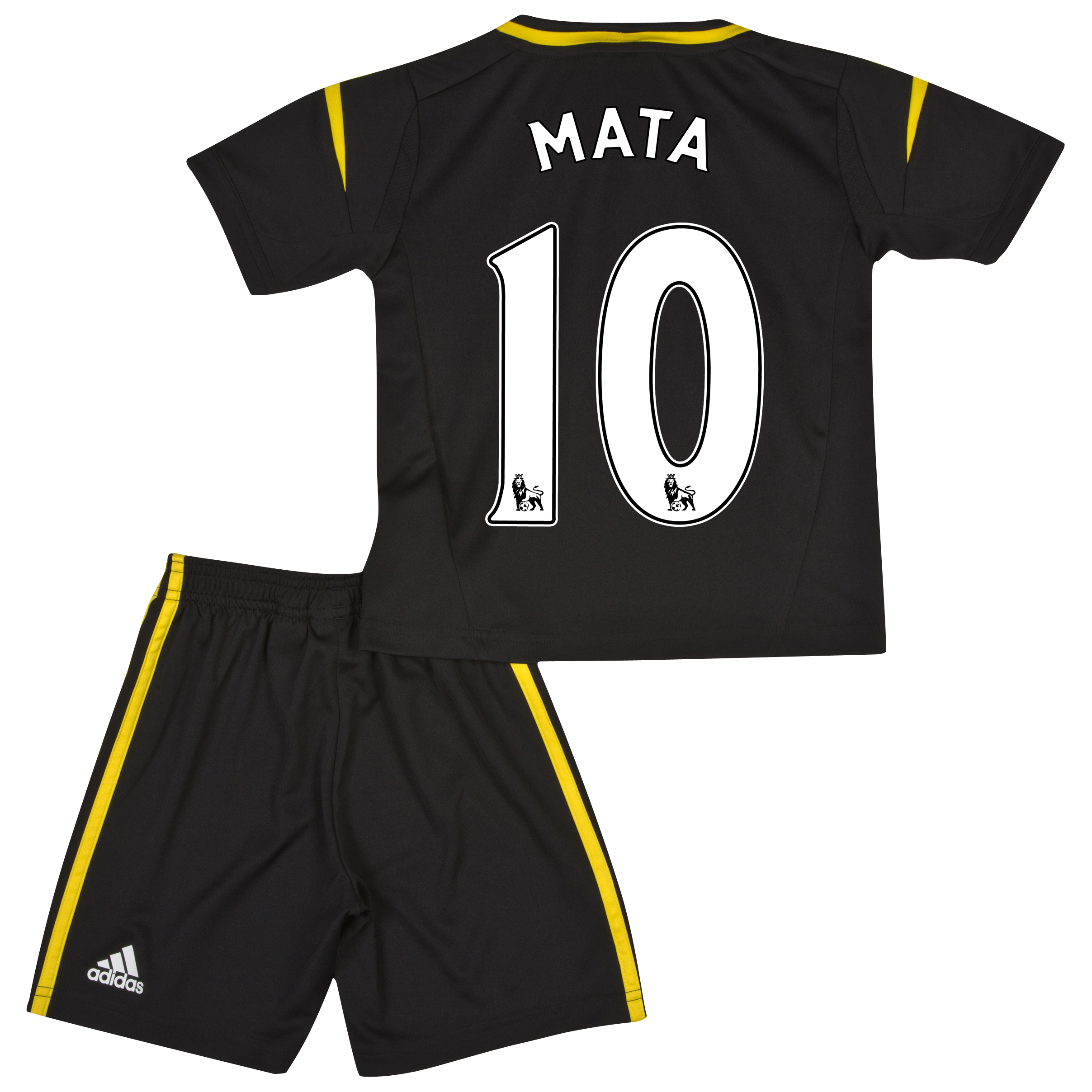 Chelsea Third Mini Kit 2012/13 with Mata 10 printing