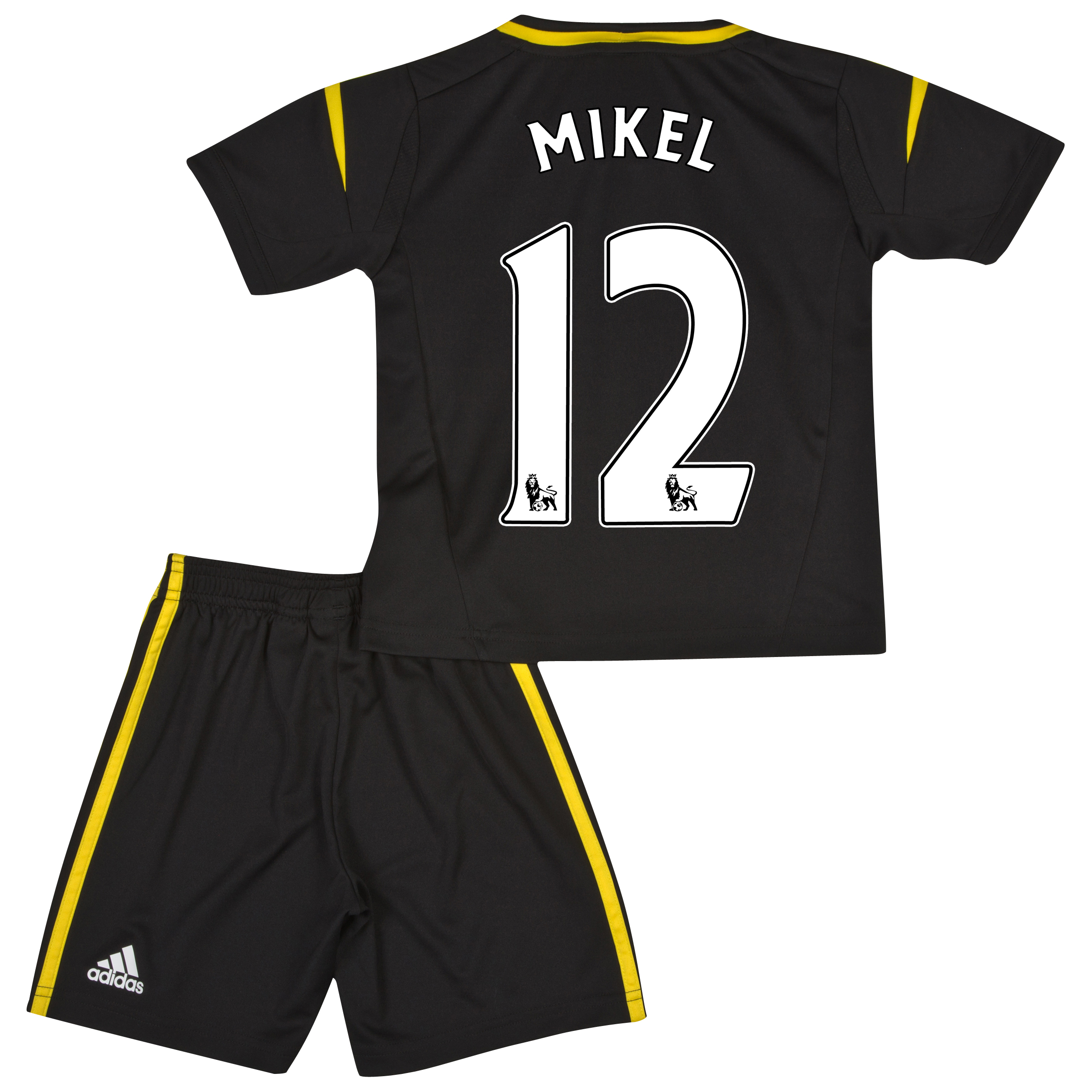 Chelsea Third Mini Kit 2012/13 with Mikel 12 printing