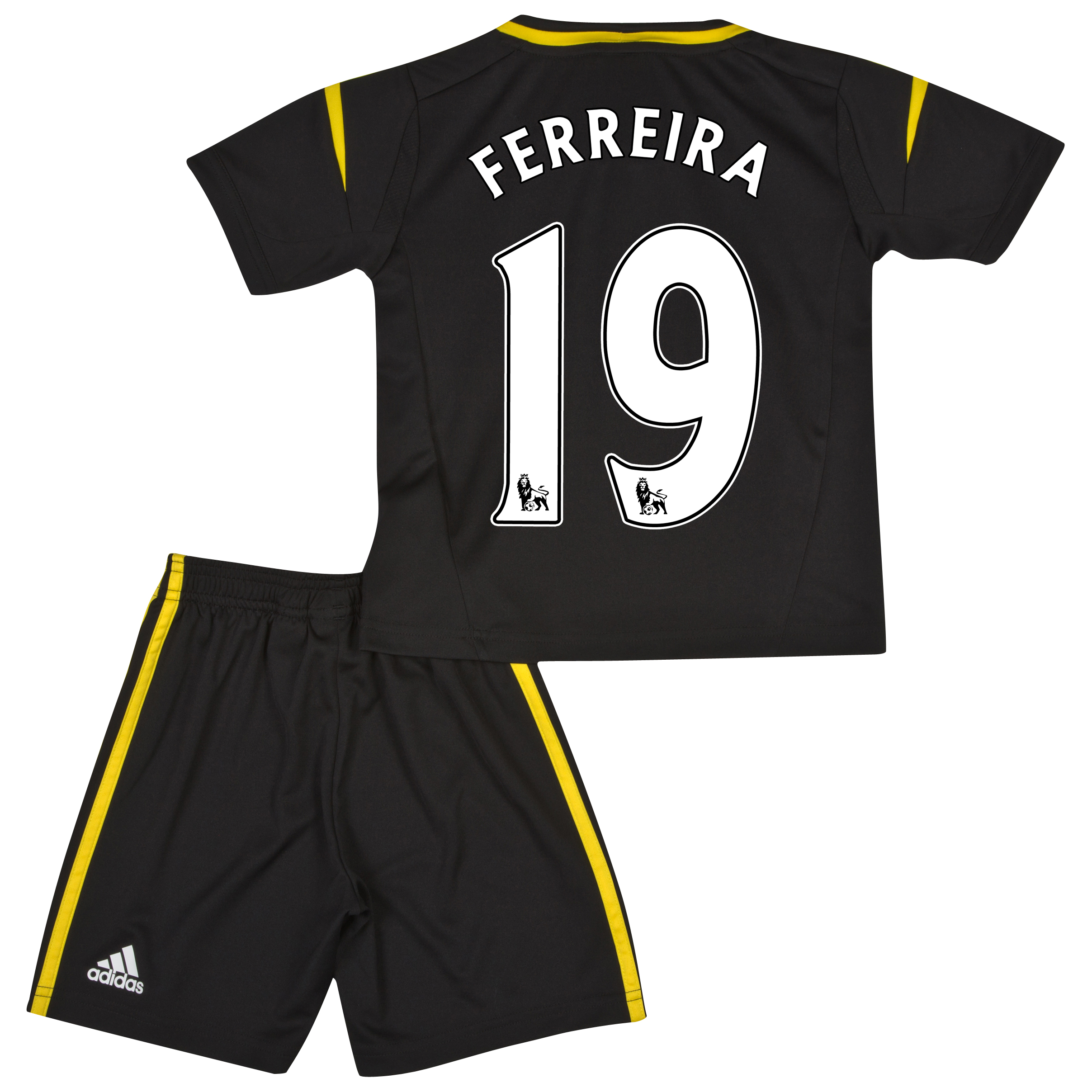 Chelsea Third Mini Kit 2012/13 with Ferreira 19 printing