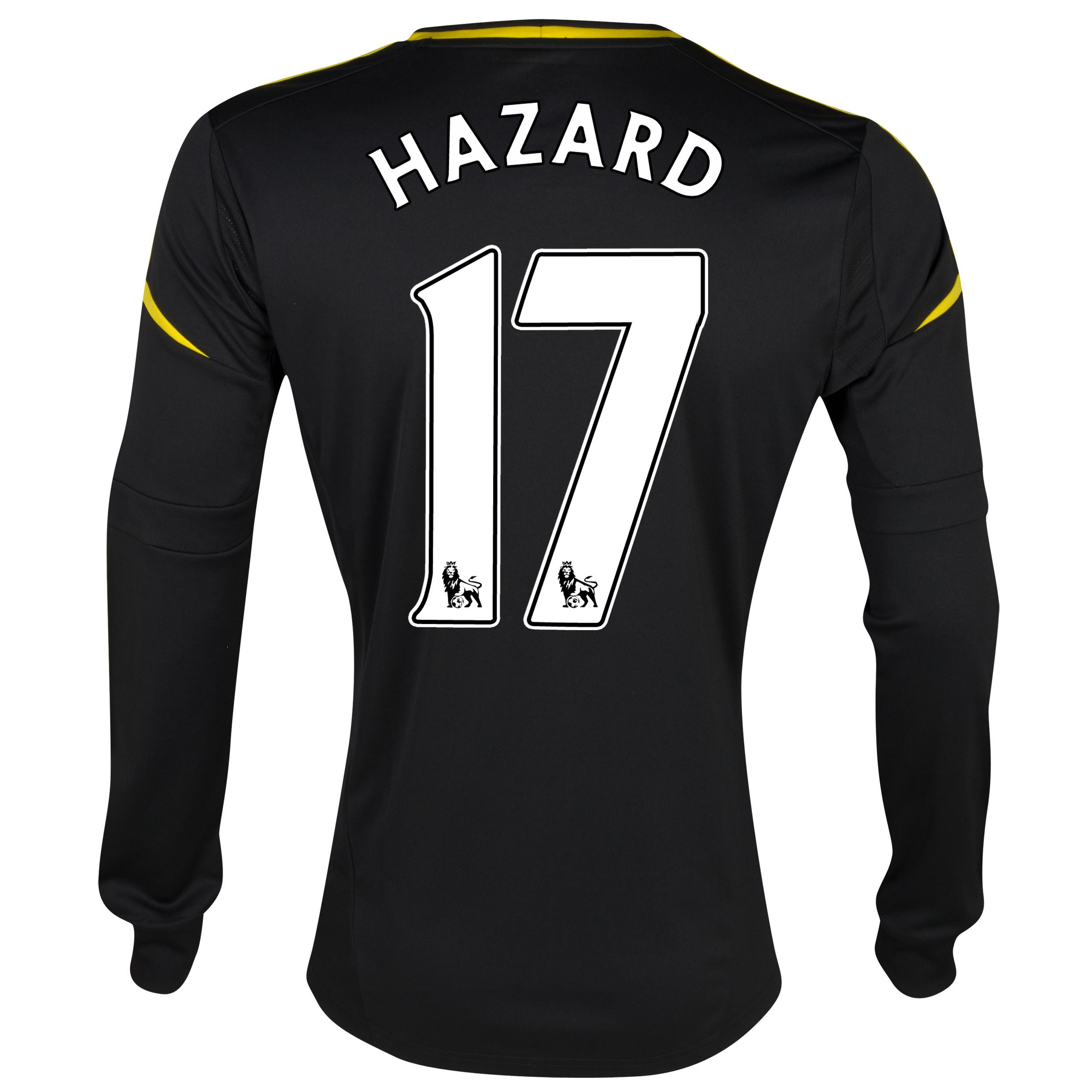 Chelsea Third Shirt 2012/13 - Long Sleeved with Hazard 17 printing