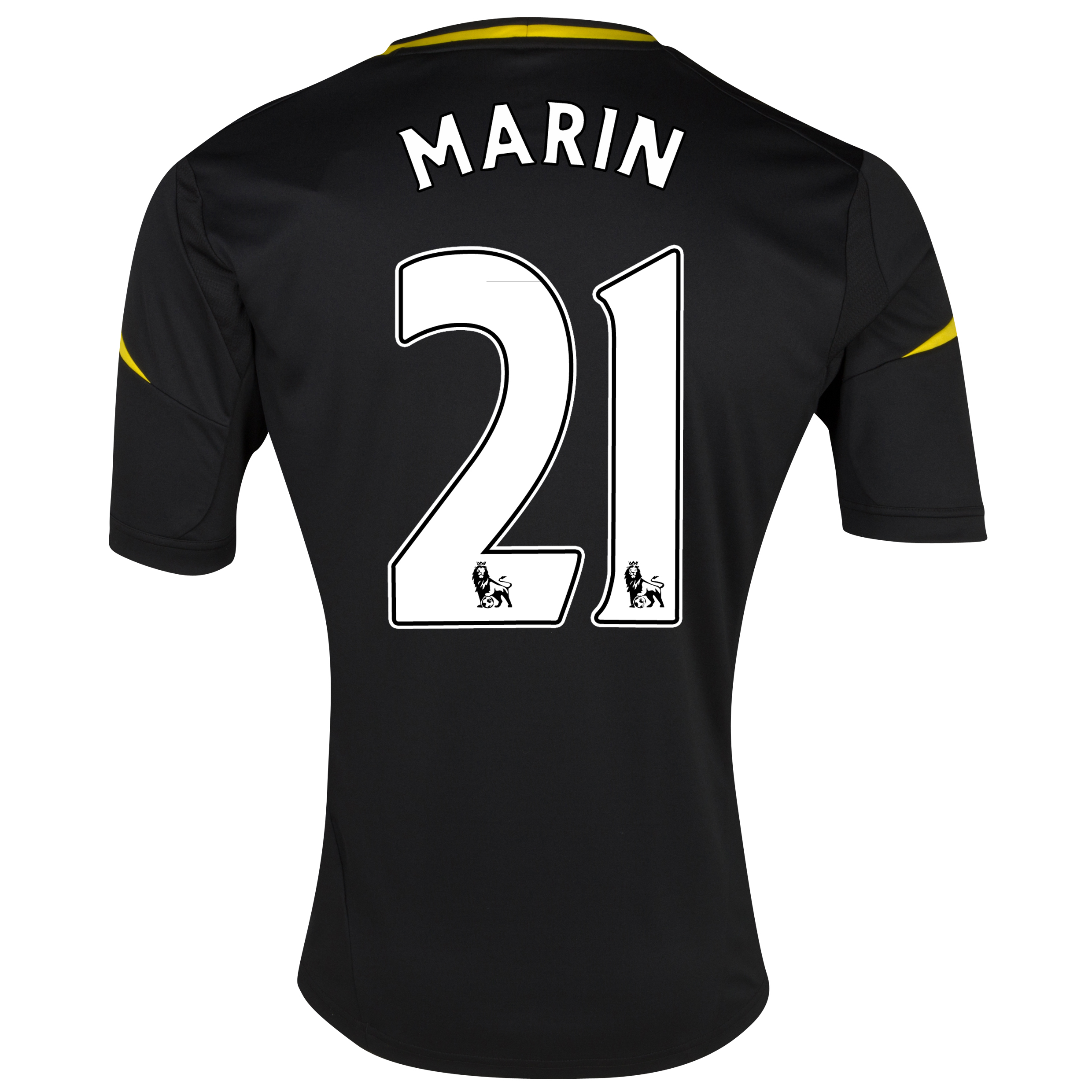 Chelsea Third Shirt 2012/13 with Marin 21 printing