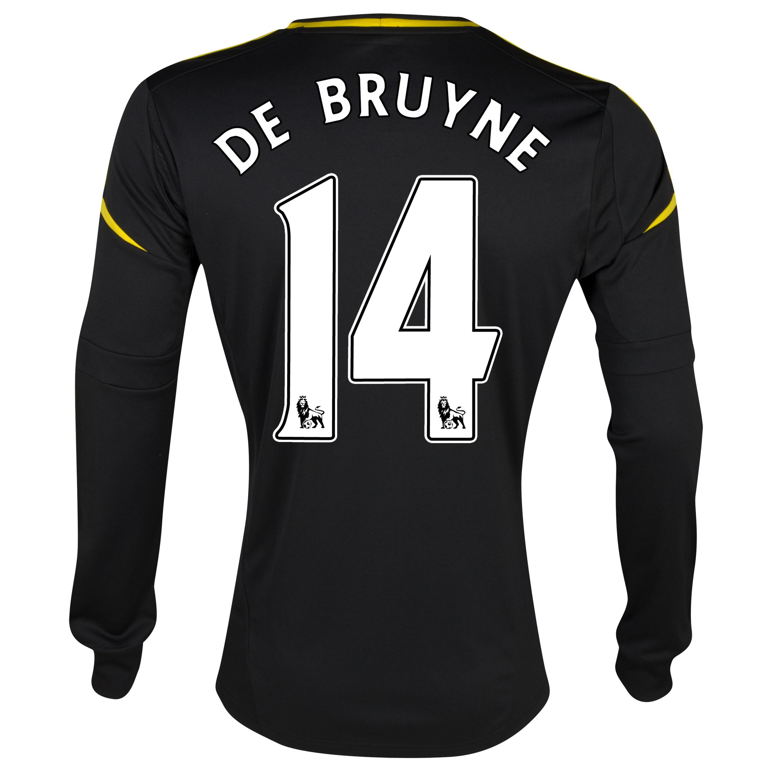 Chelsea Third Shirt 2012/13 - Long Sleeved with De Bruyne 14 printing
