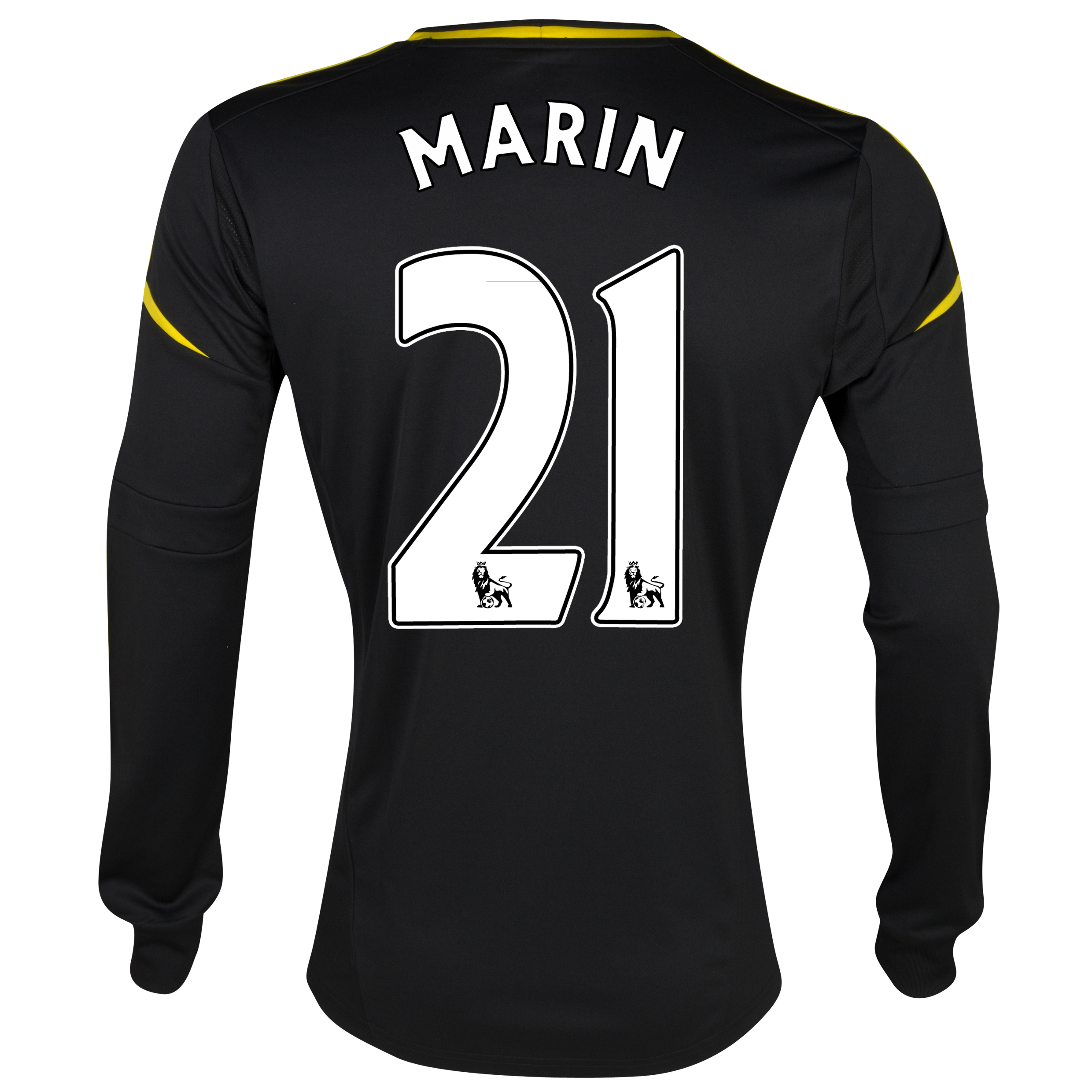 Chelsea Third Shirt 2012/13 - Long Sleeved with Marin 21 printing