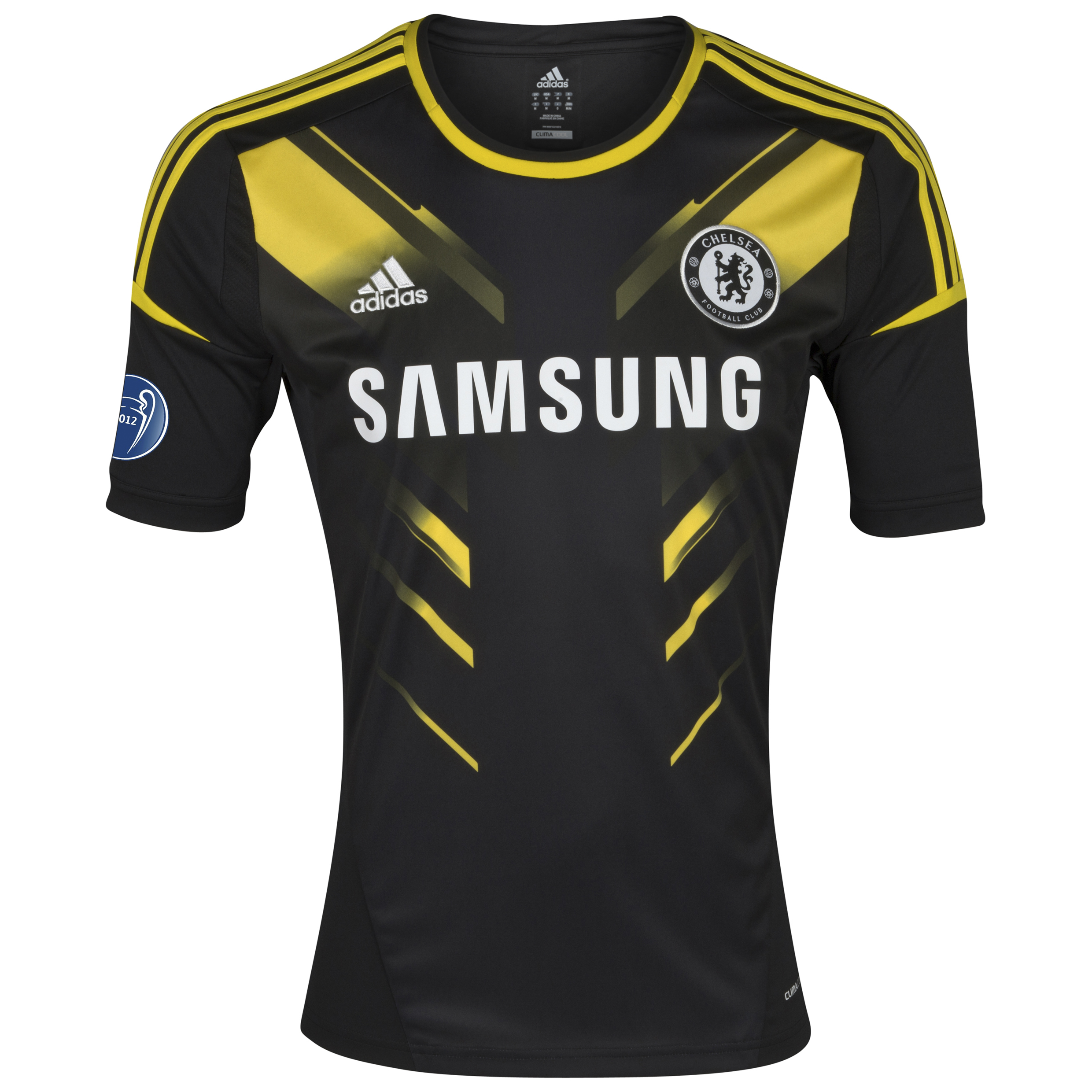 Chelsea UEFA Champions League Third Shirt 2012/13 - Kids with Winners Badge