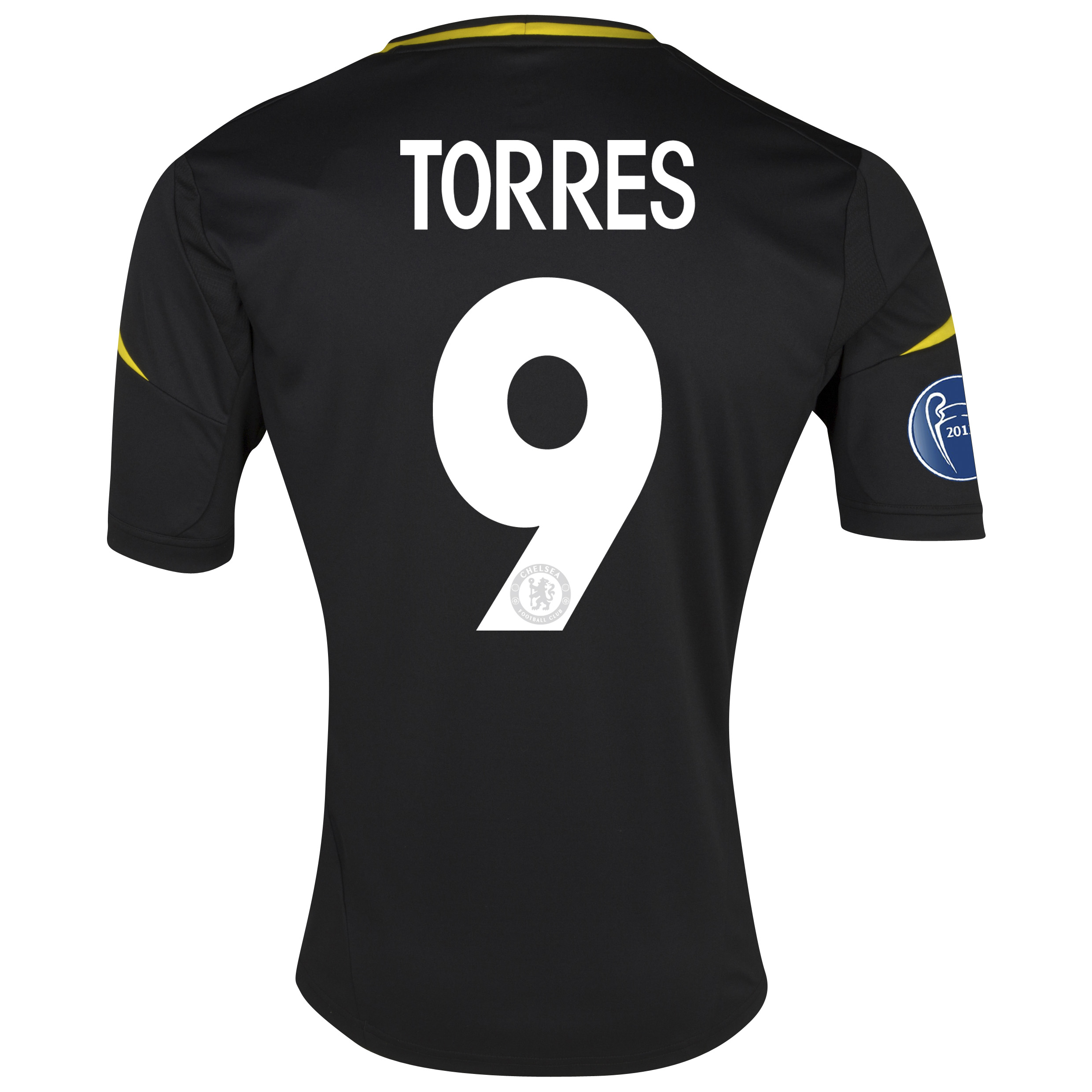 Chelsea UEFA Champions League Third Shirt 2012/13 with Torres 9 printing
