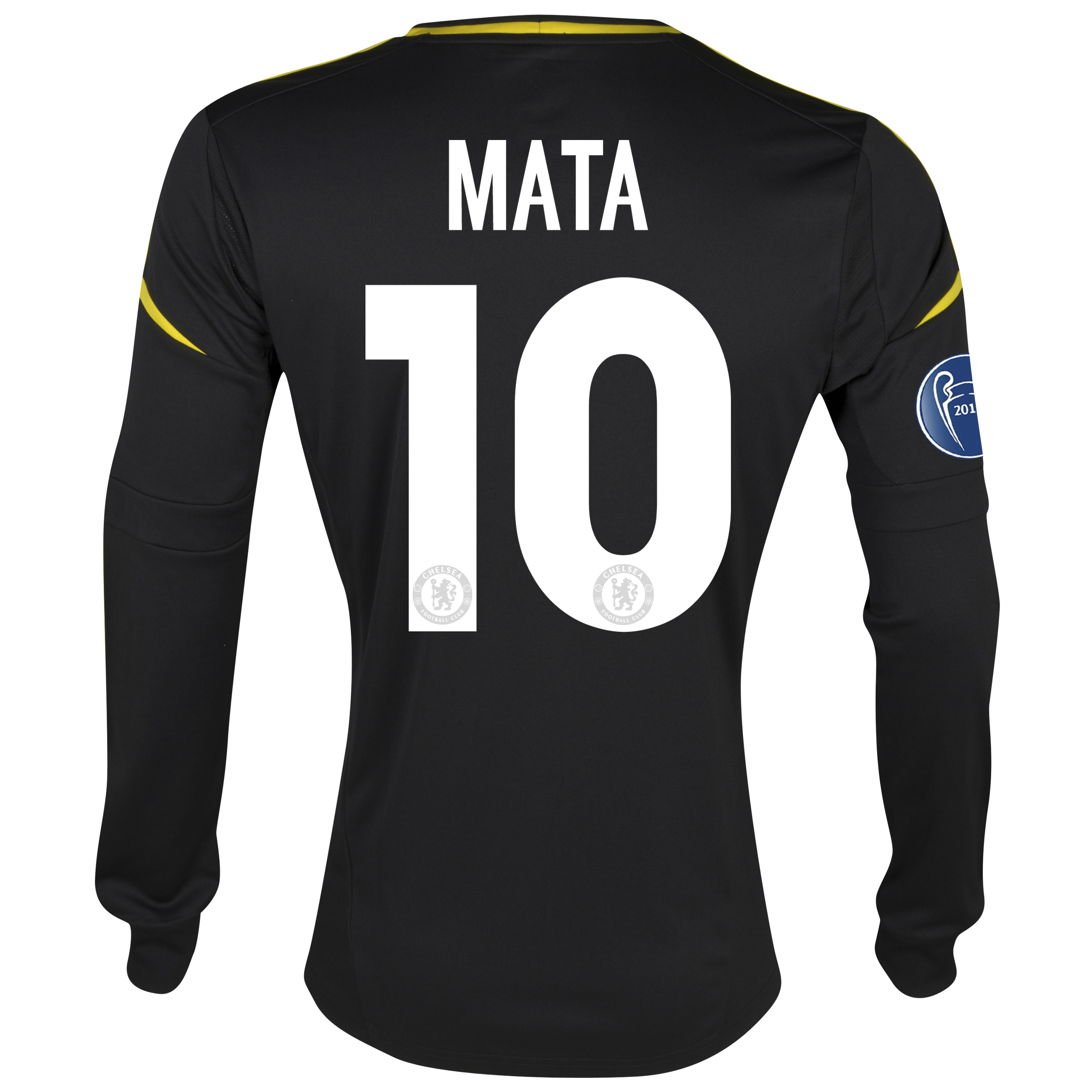 Chelsea UEFA Champions League Third Shirt 2012/13 with Mata 10 printing
