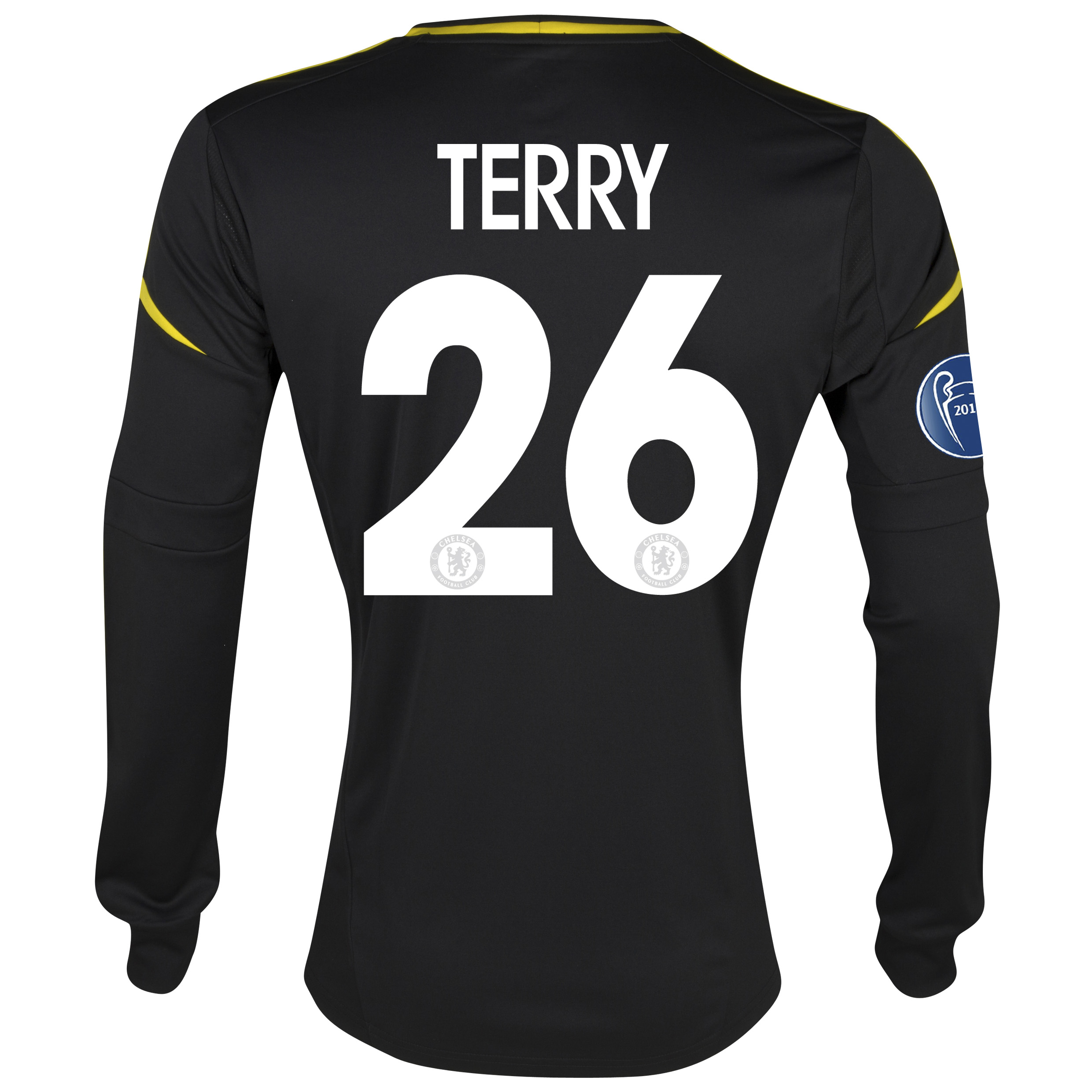 Chelsea UEFA Champions League Third Shirt 2012/13 with Terry 26 printing
