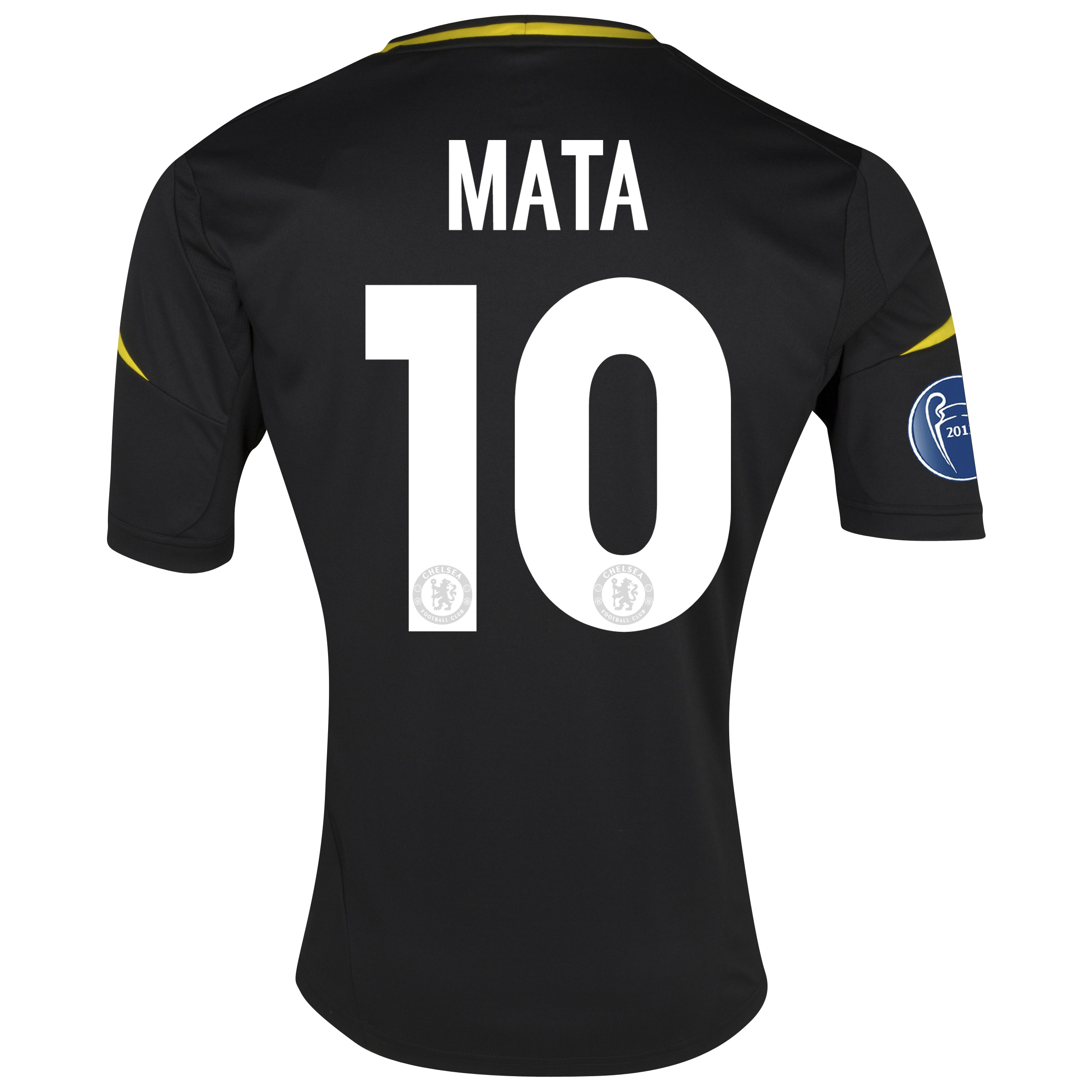 Chelsea UEFA Champions League Third Shirt 2012/13 - Youths with Mata 10 printing