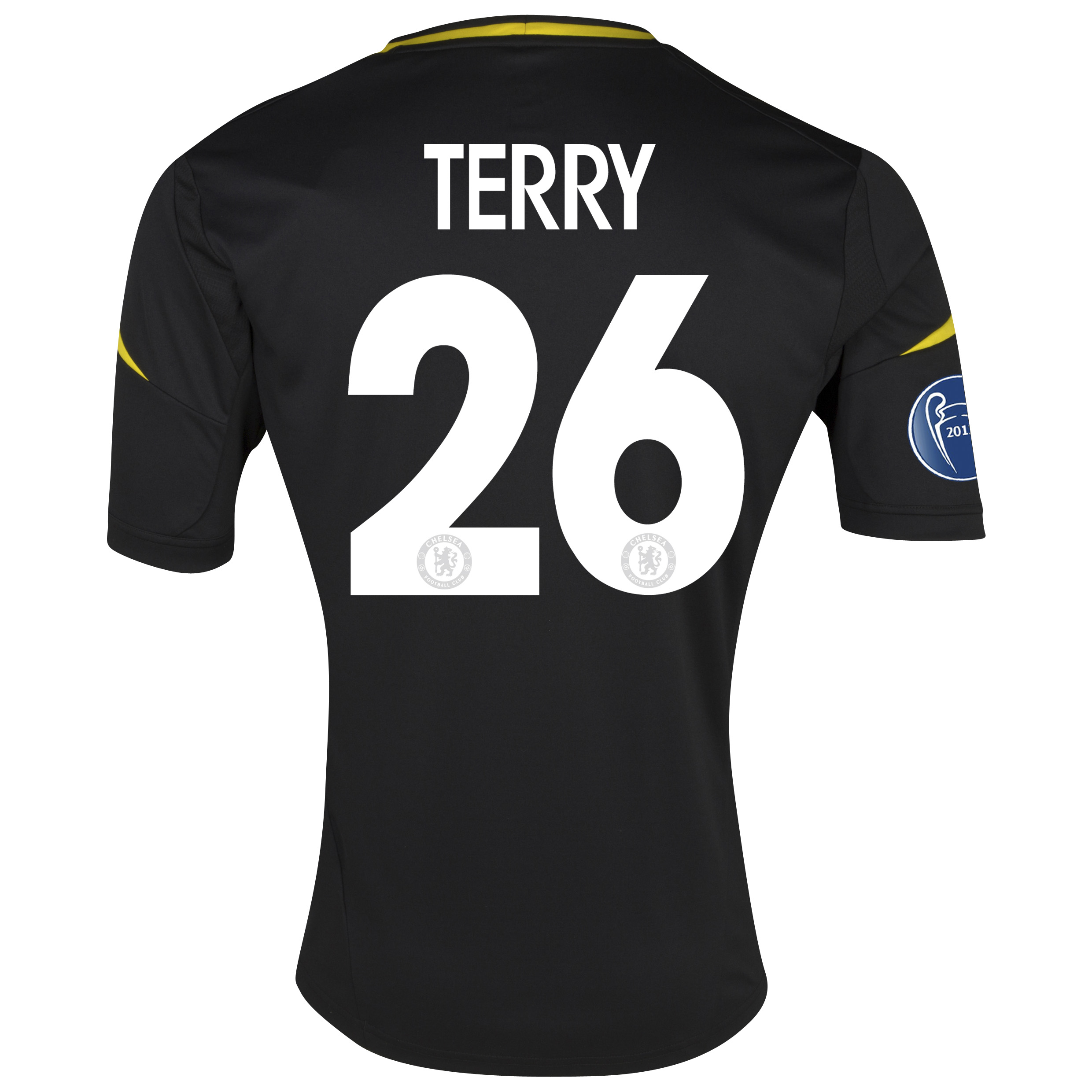Chelsea UEFA Champions League Third Shirt 2012/13 - Youths with Terry 26 printing