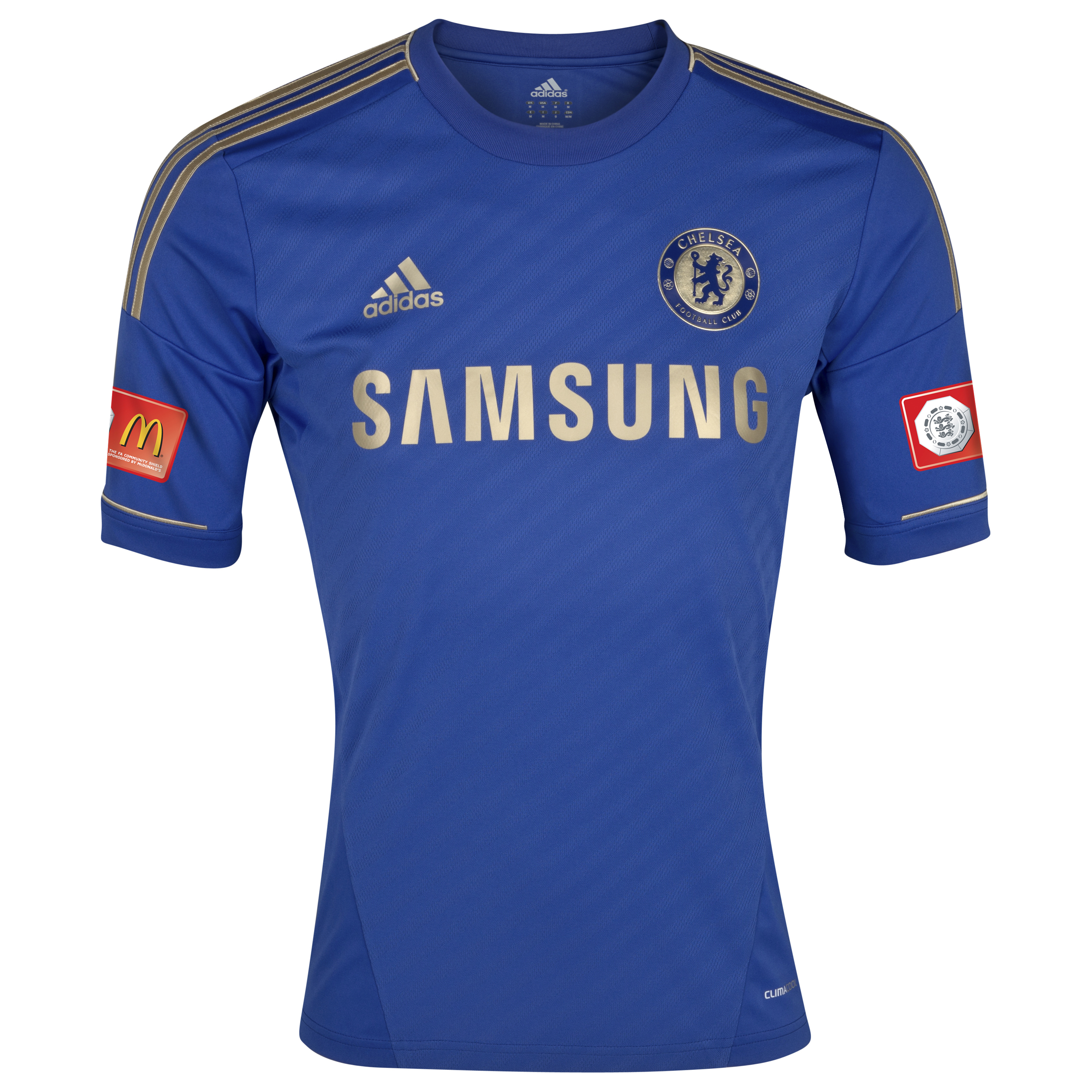 Chelsea Home Shirt 2012/13 Including FA Community Shield Badge