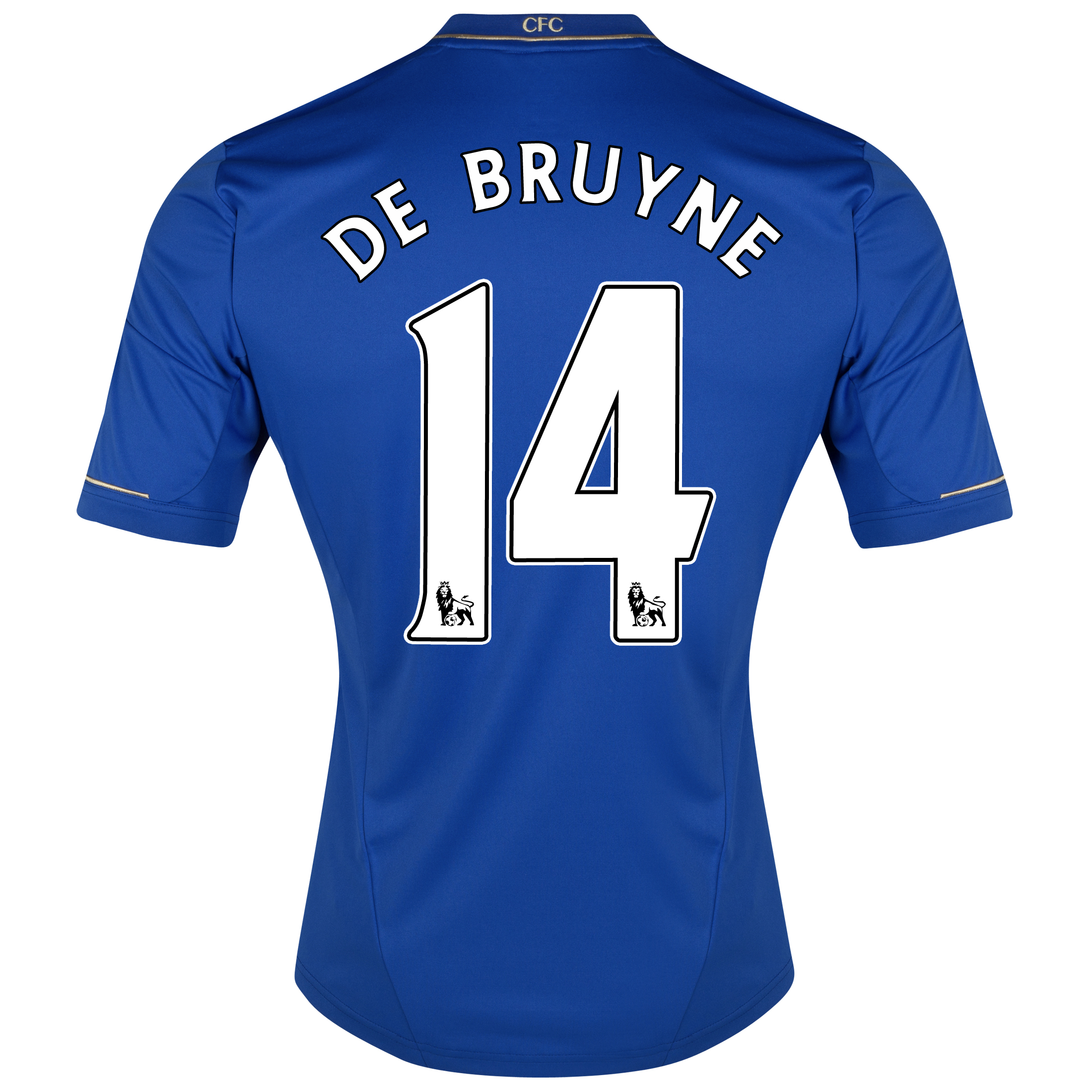 Chelsea Home Shirt 2012/13 - Long Sleeved with De Bruyne 14 printing