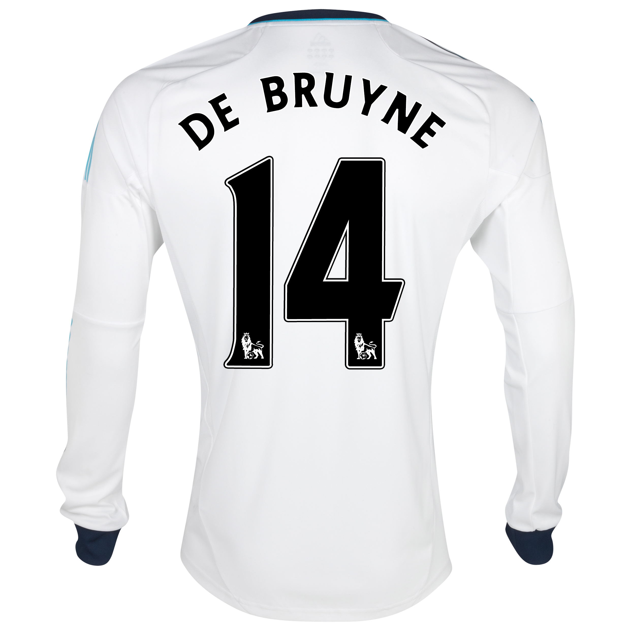 Chelsea Away Shirt 2012/13 - Long Sleeved - Kids with De Bruyne 14 printing