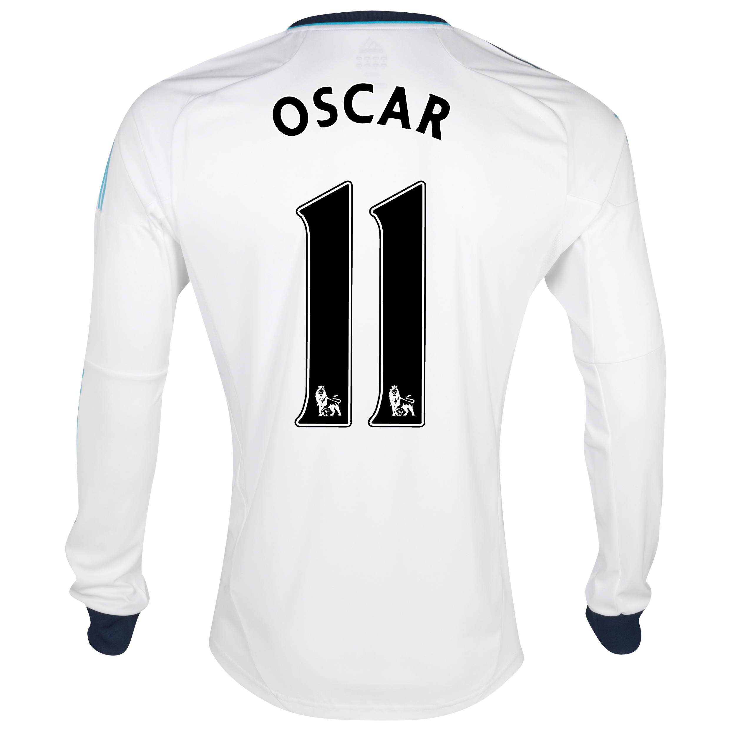 Chelsea Away Shirt 2012/13 - Long Sleeved  - Youths with Oscar 11 printing