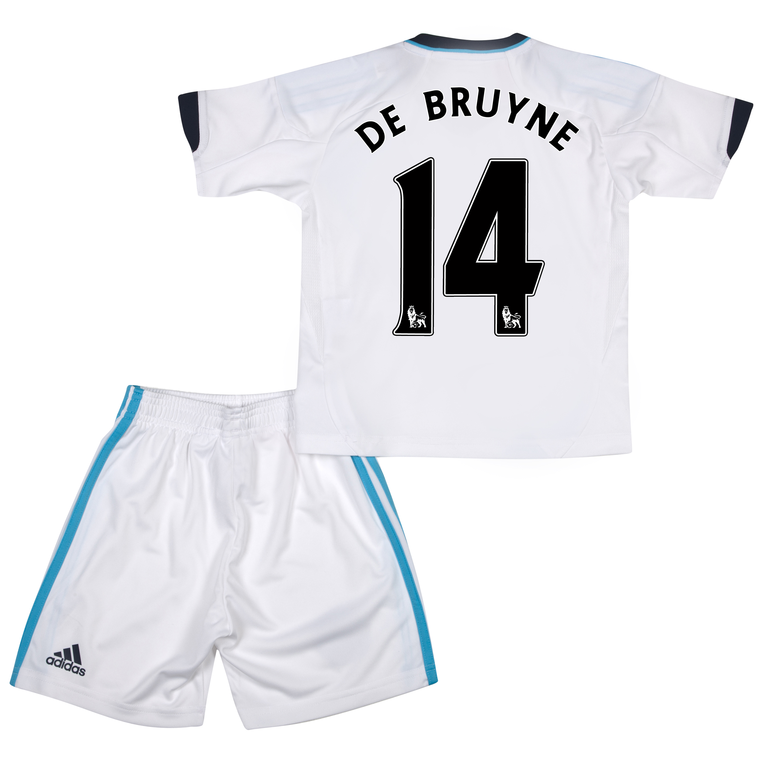 Chelsea Away Mini Kit 2012/13 with De Bruyne 14 printing