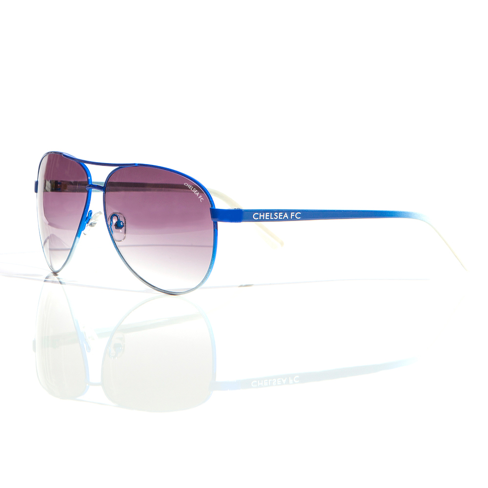 Chelsea Aviator Sunglasses Blue - Adult