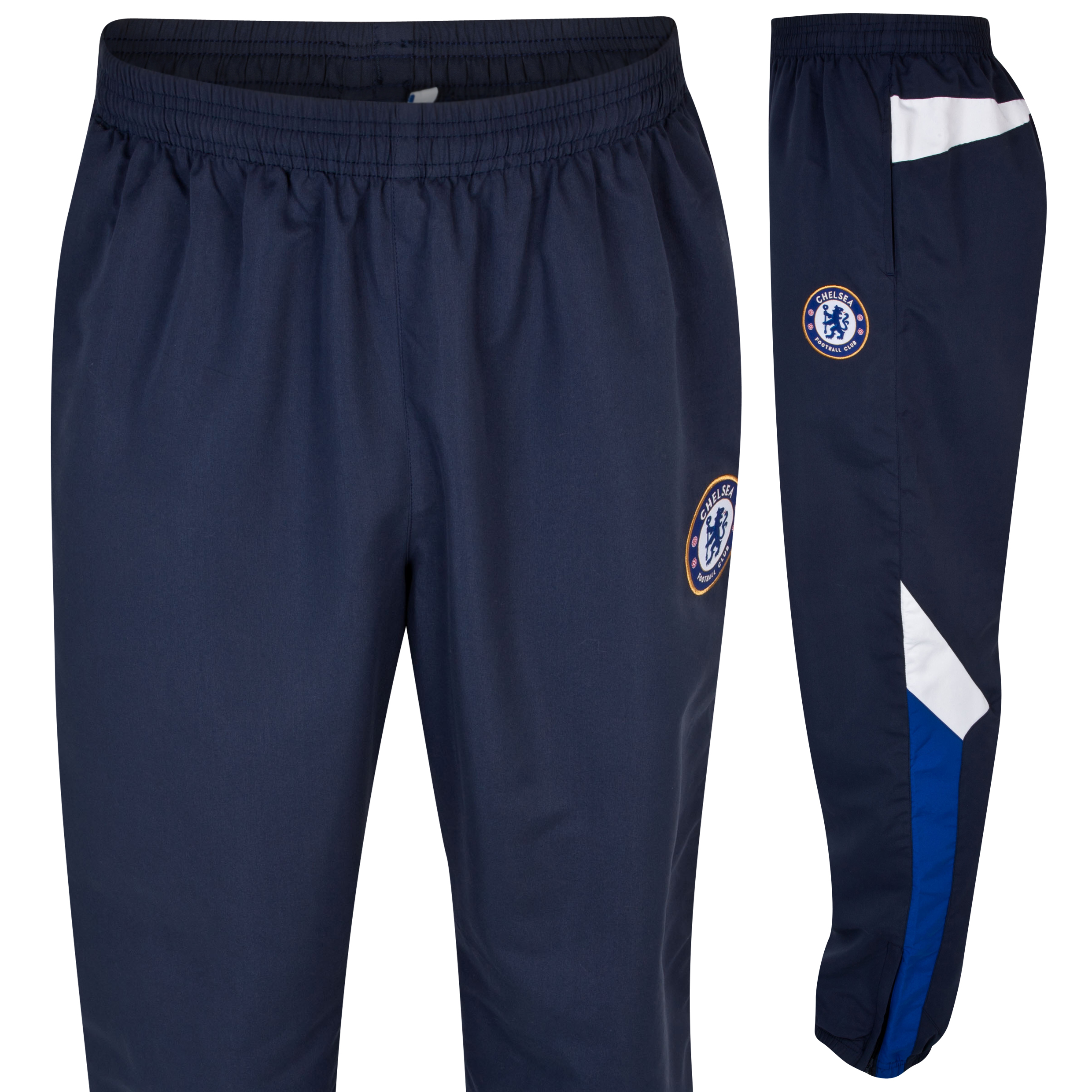Chelsea Basic Woven Leisure Pant - Navy