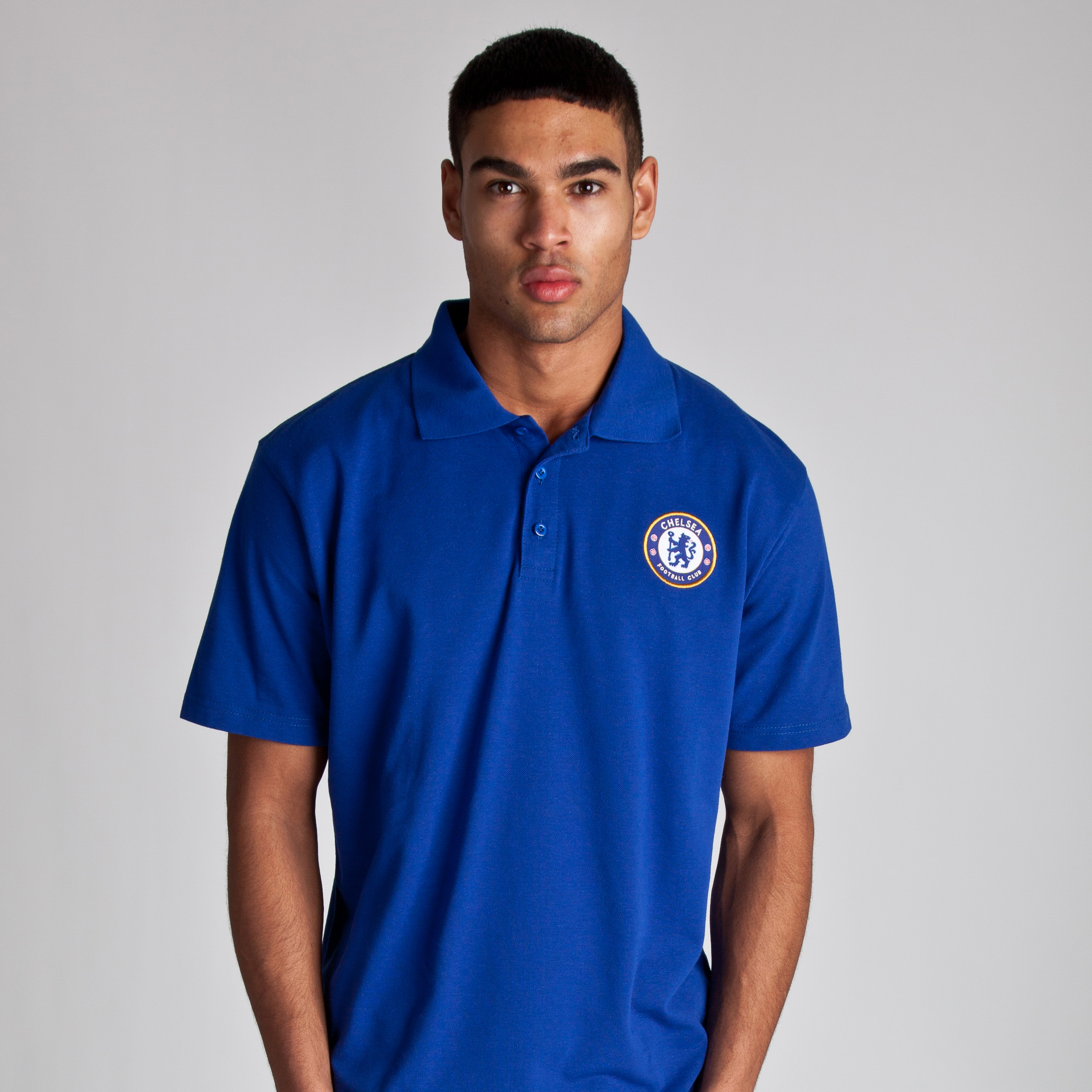 Chelsea Basic Crest Polo - Royal