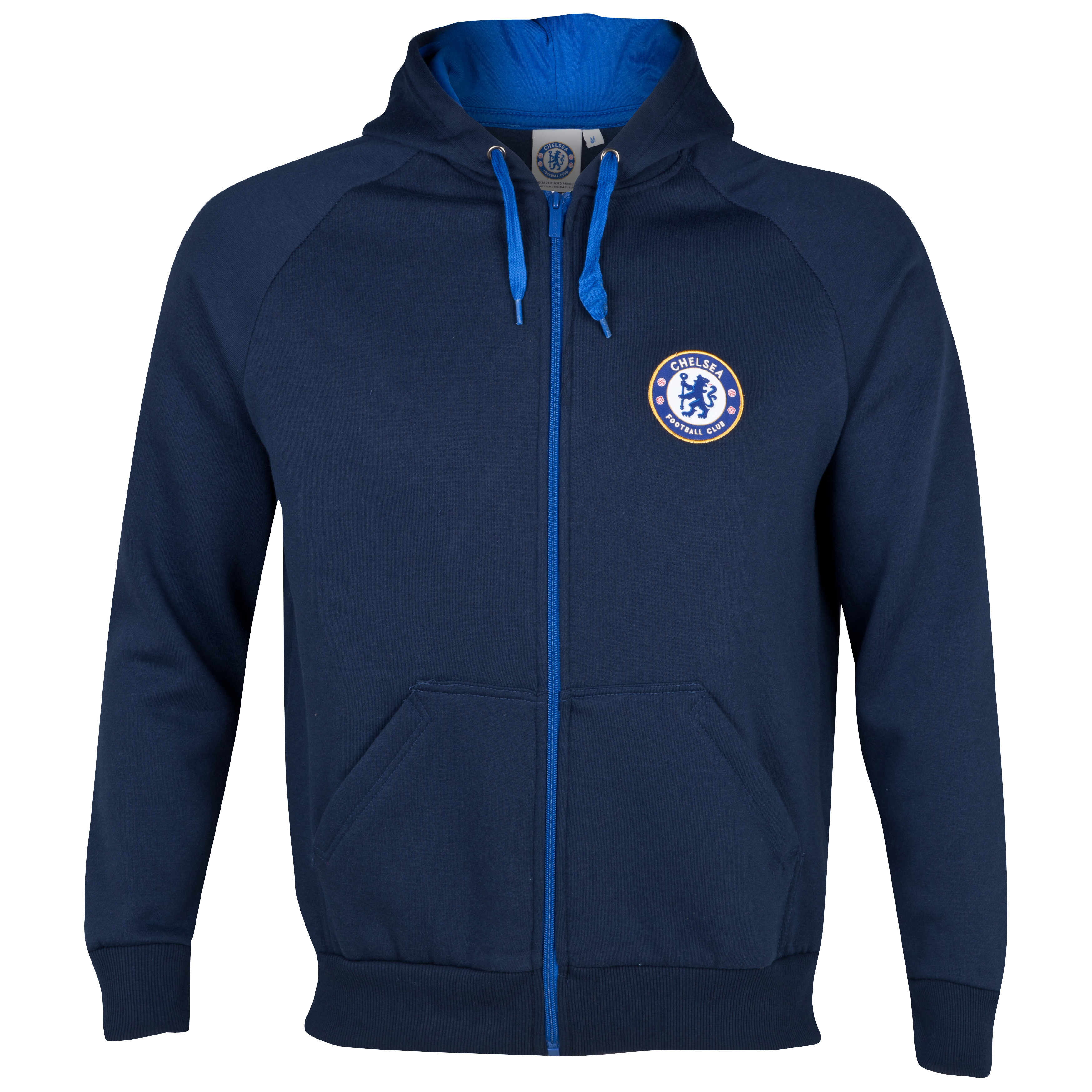 Chelsea Basic Zip Thru Hoody - Navy