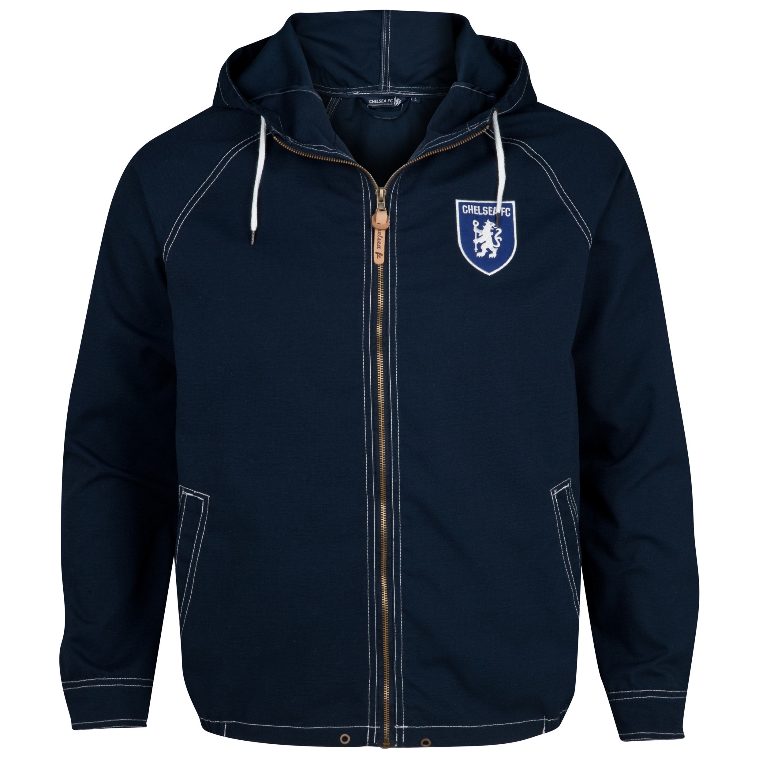Chelsea Regatta Hooded Jacket - Navy