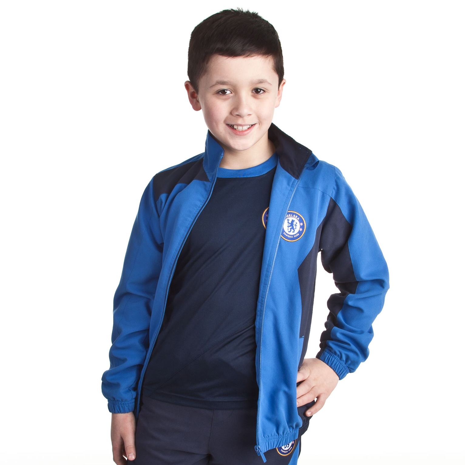 Chelsea Core Leisure Top - Strong Blue - Older Boys