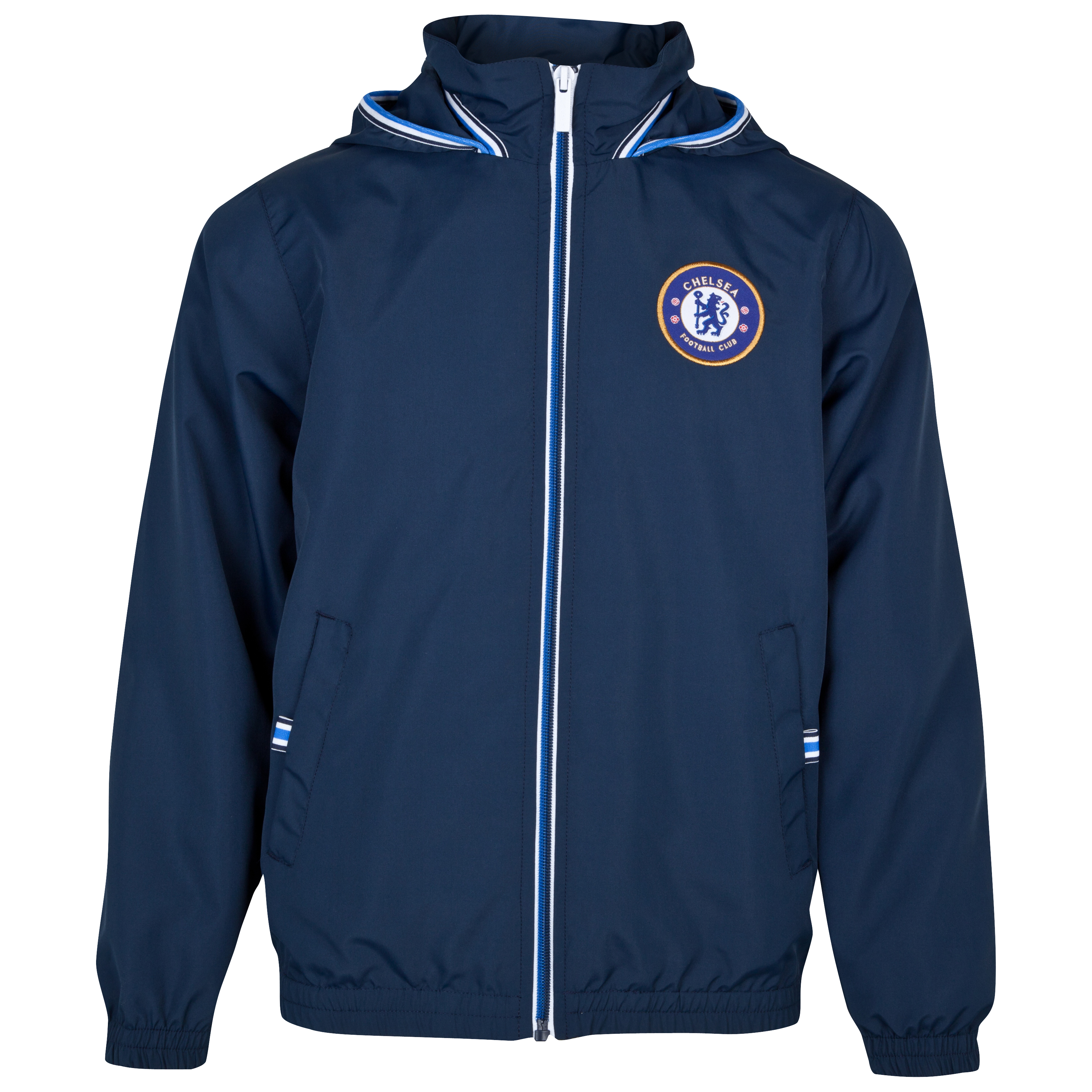 Chelsea Core Graphic Shower Jacket - Navy - Older Boys