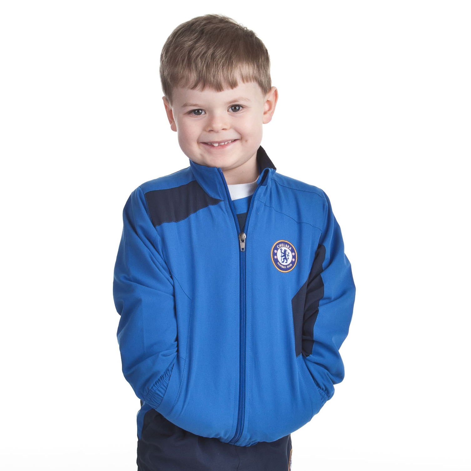 Chelsea Core Leisure Top - Strong Blue - Infant Boys