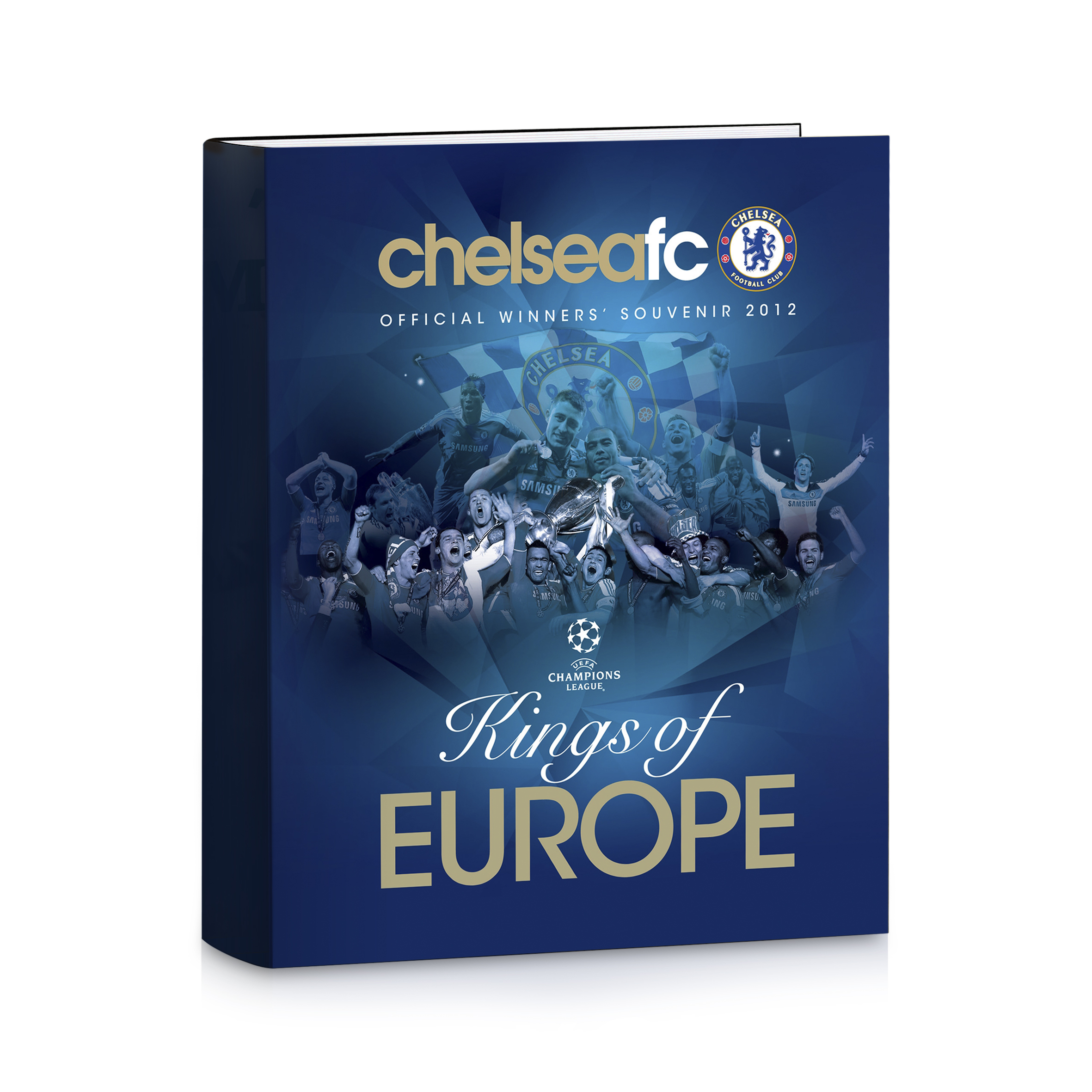 Chelsea Kings Of Europe Hardback Book
