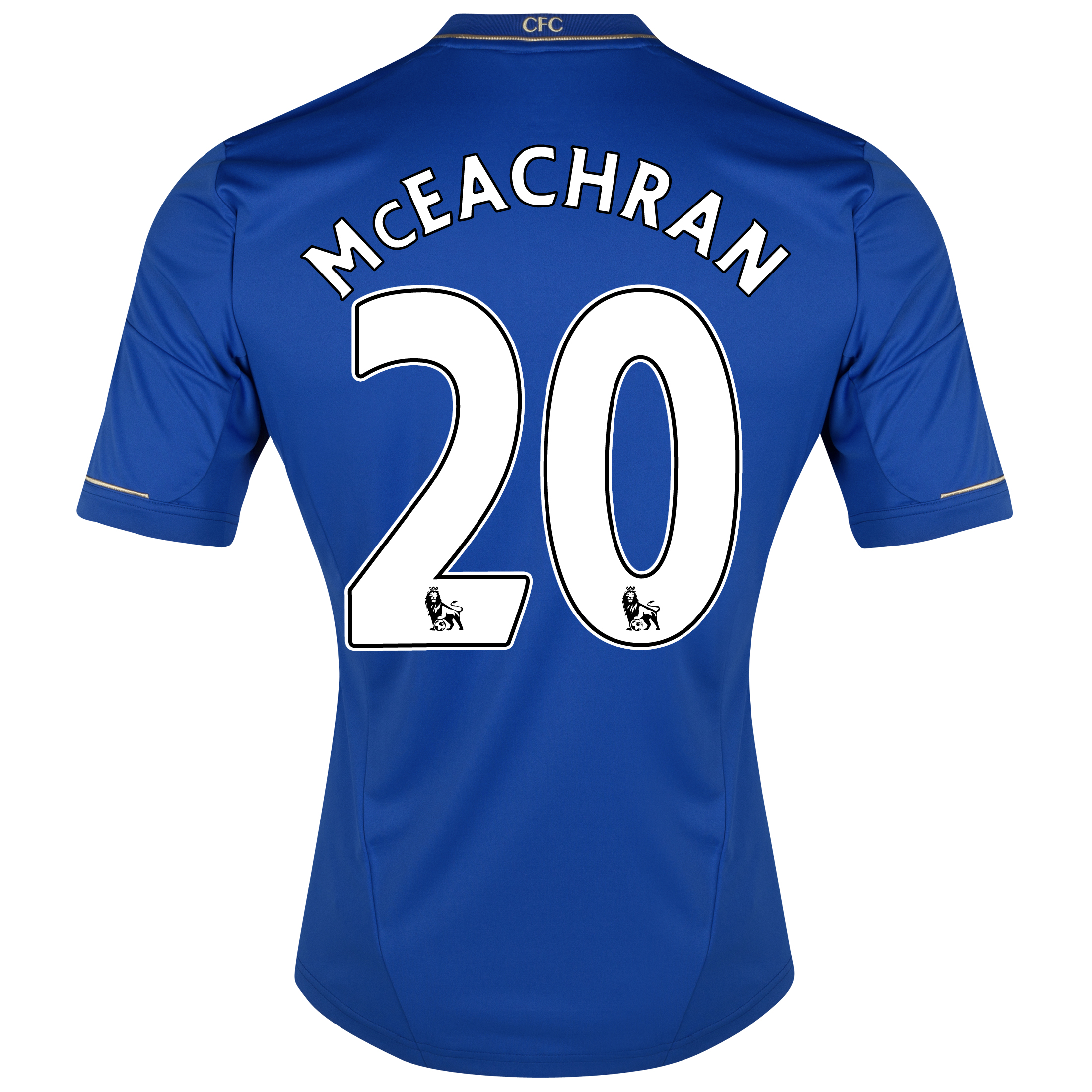 Chelsea Home Shirt 2012/13 with McEachran 20 printing