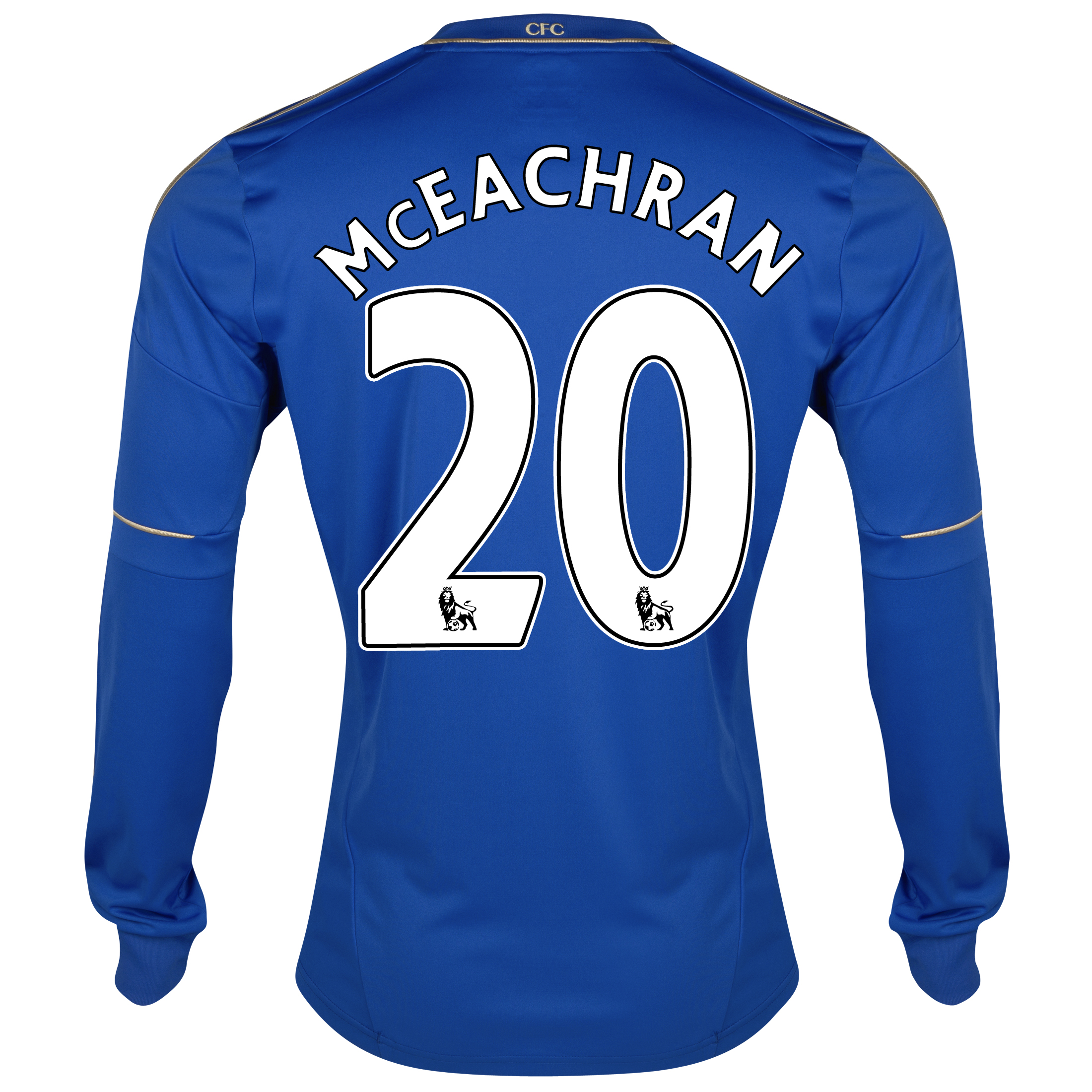 Chelsea Home Shirt 2012/13 - Long Sleeved - Youths with McEachran 20 printing