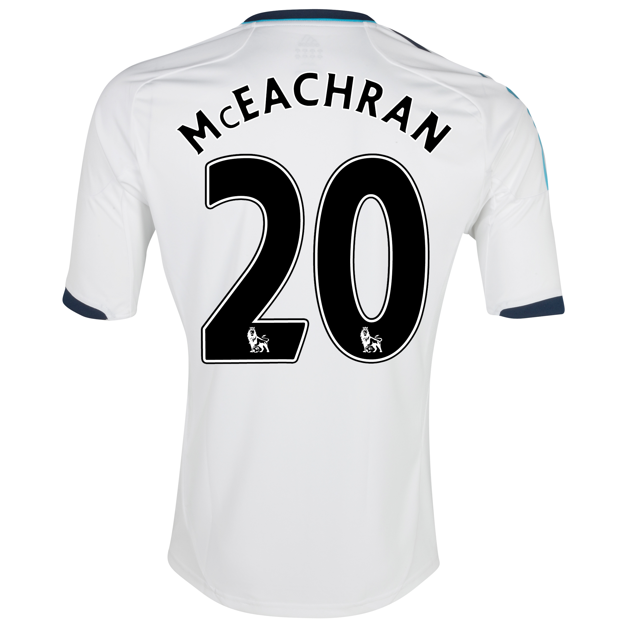 Chelsea Away Shirt 2012/13 with McEachran 20 printing